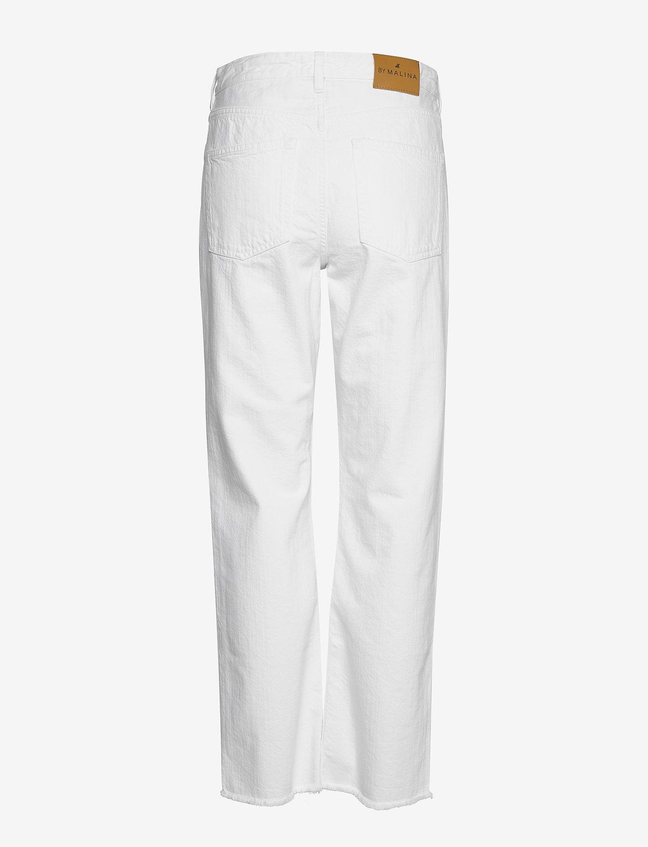 By Malina - Alexa jeans - straight regular - white - 1