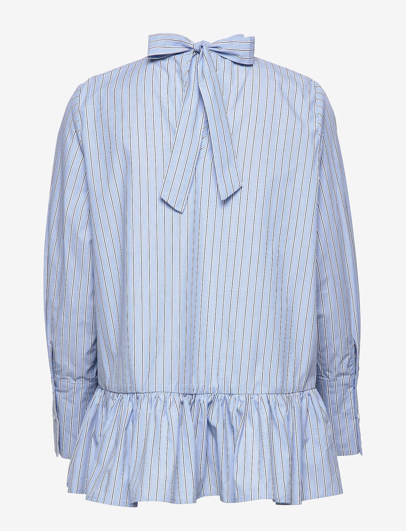 Aldina Shirt (Blue Stripe) - By Malina jHYxyU