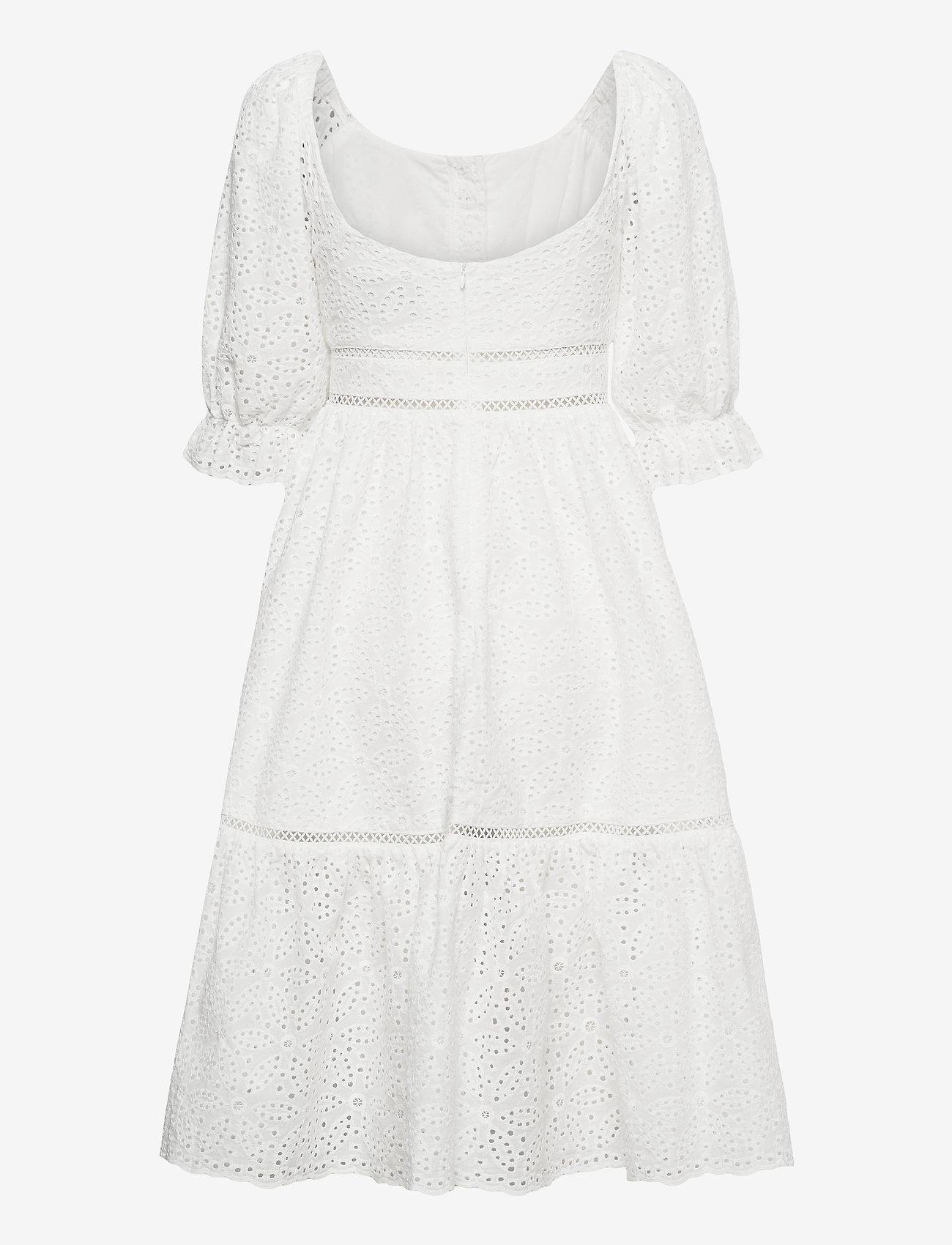 By Malina - Gloria dress - vardagsklänningar - white - 1