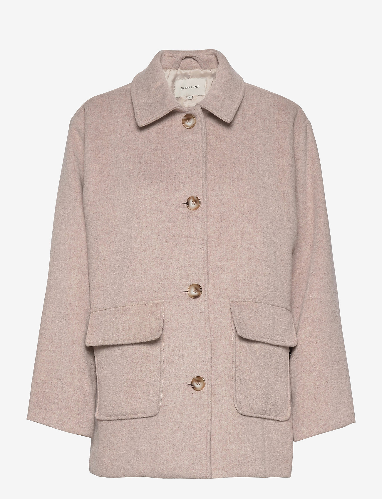 By Malina - Claire jacket - wool jackets - soft beige - 1