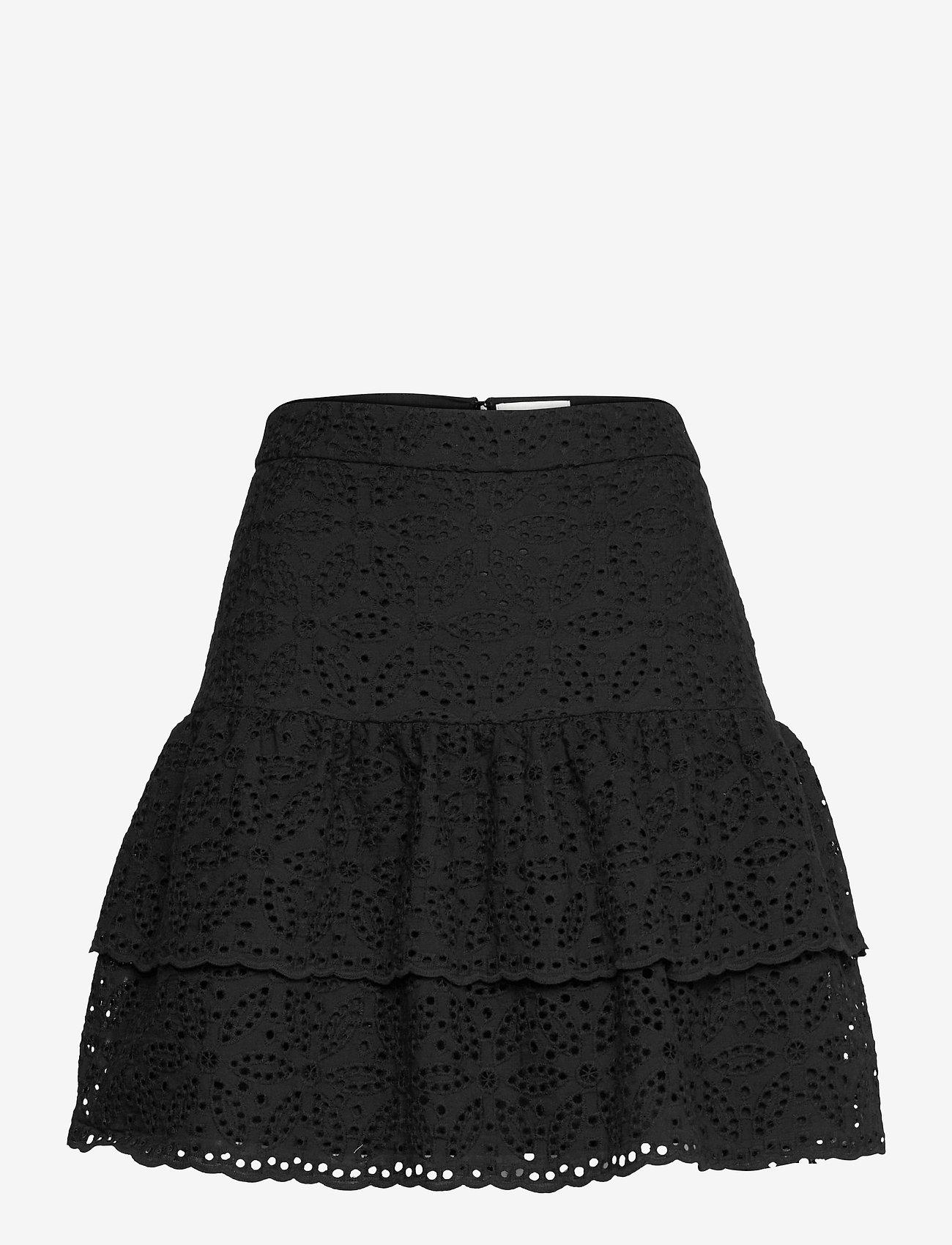 By Malina - Kacey skirt - korta kjolar - black - 1