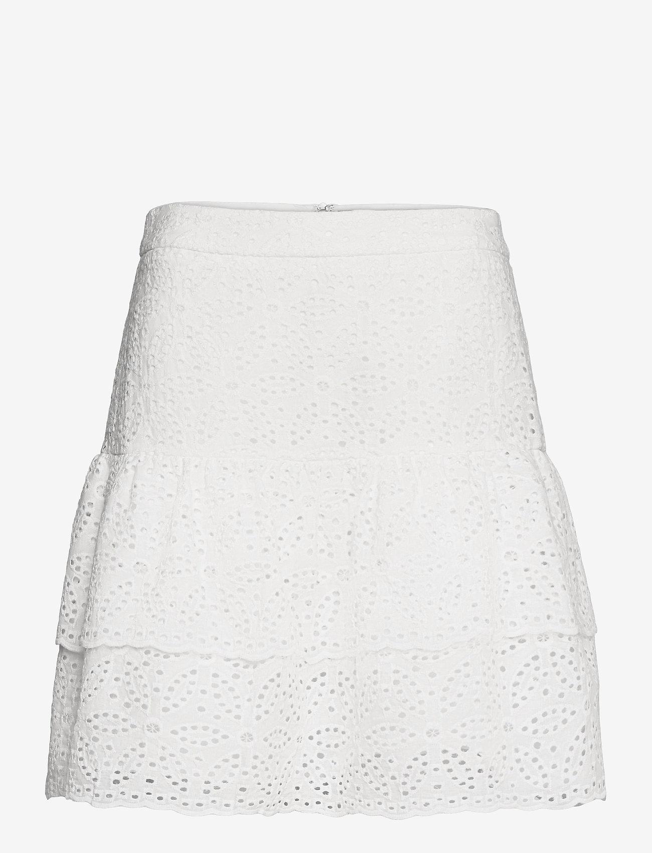 By Malina - Kacey skirt - korta kjolar - white - 0