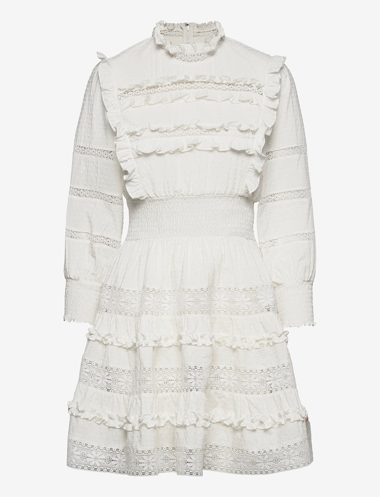By Malina - Emmie dress - sommarklänningar - white - 0