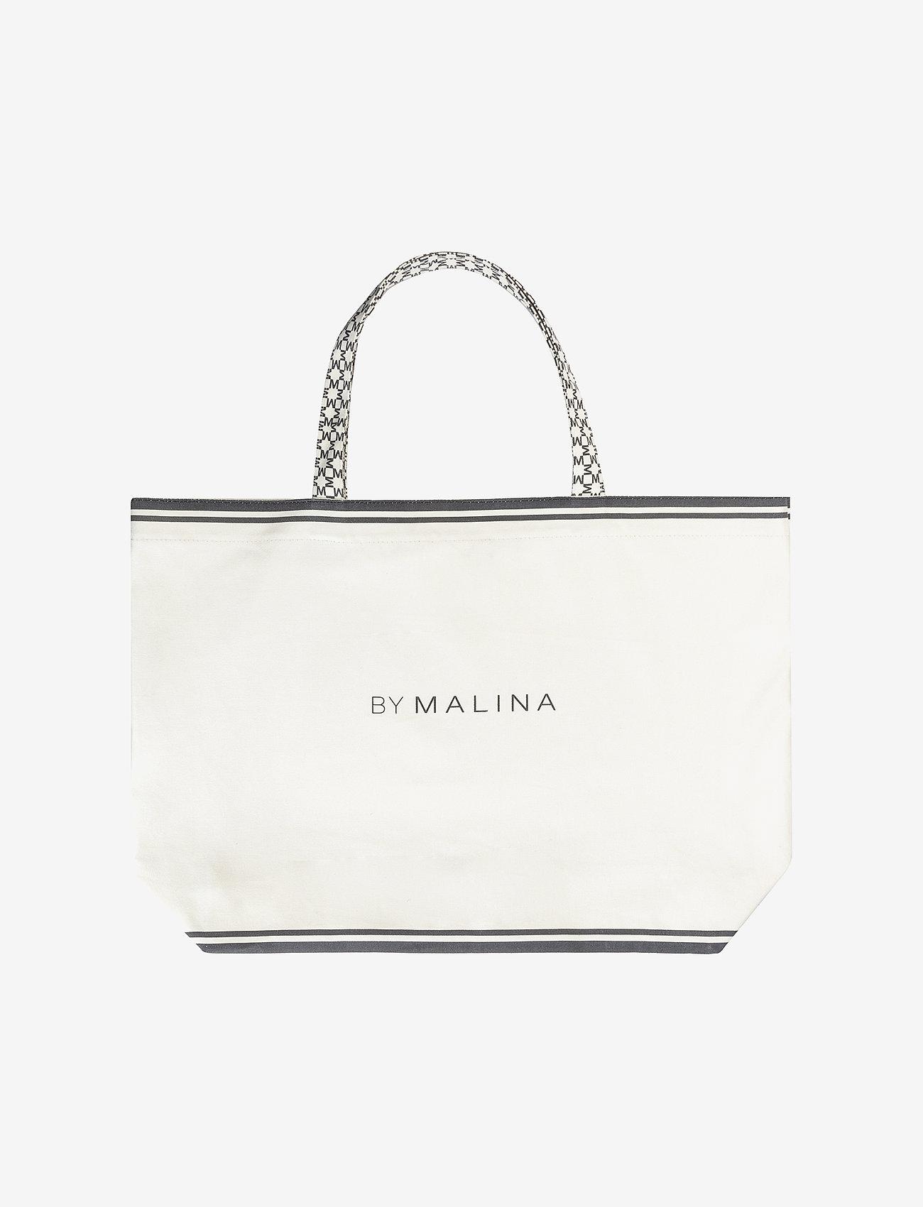 By Malina - Canvas bag - shoppingväskor & totes - cream - 0