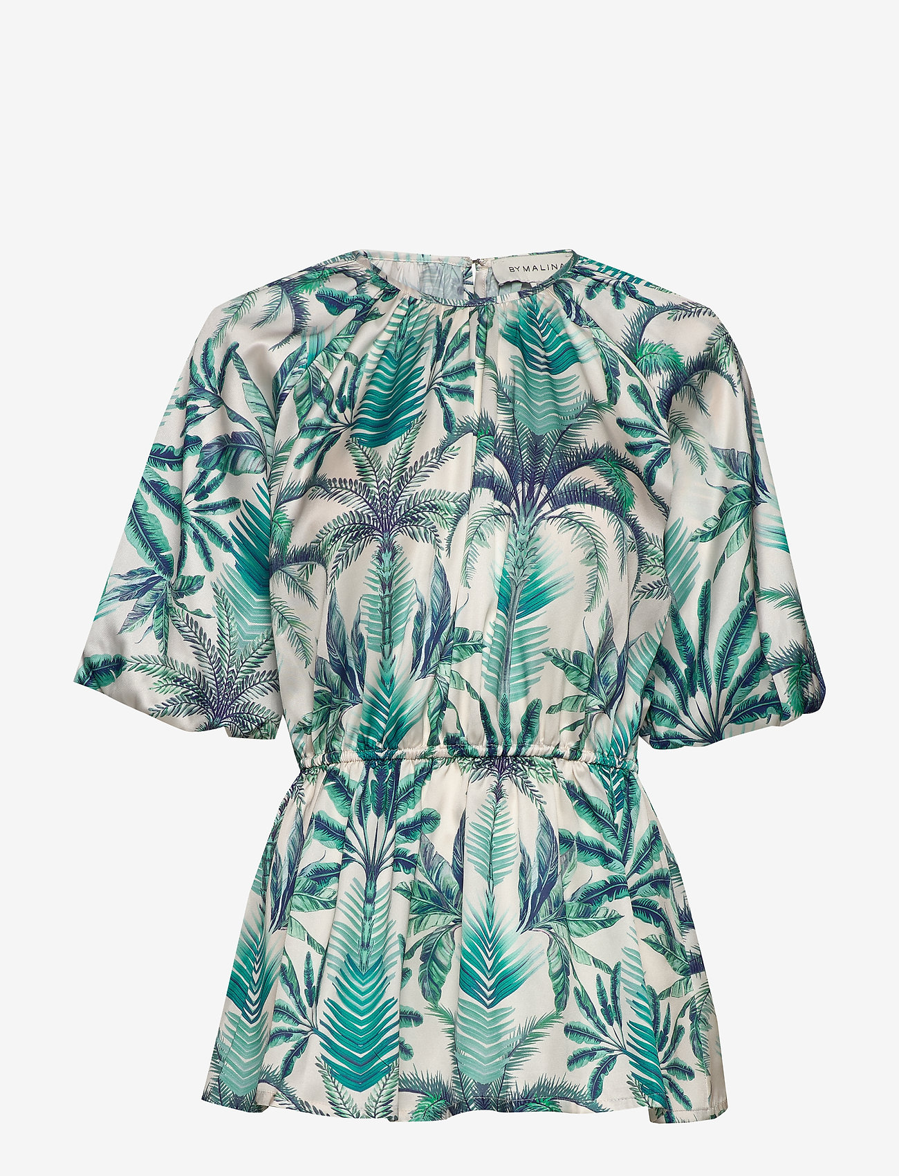 By Malina - Mina blouse - kortärmade blusar - beneath the palms - 0