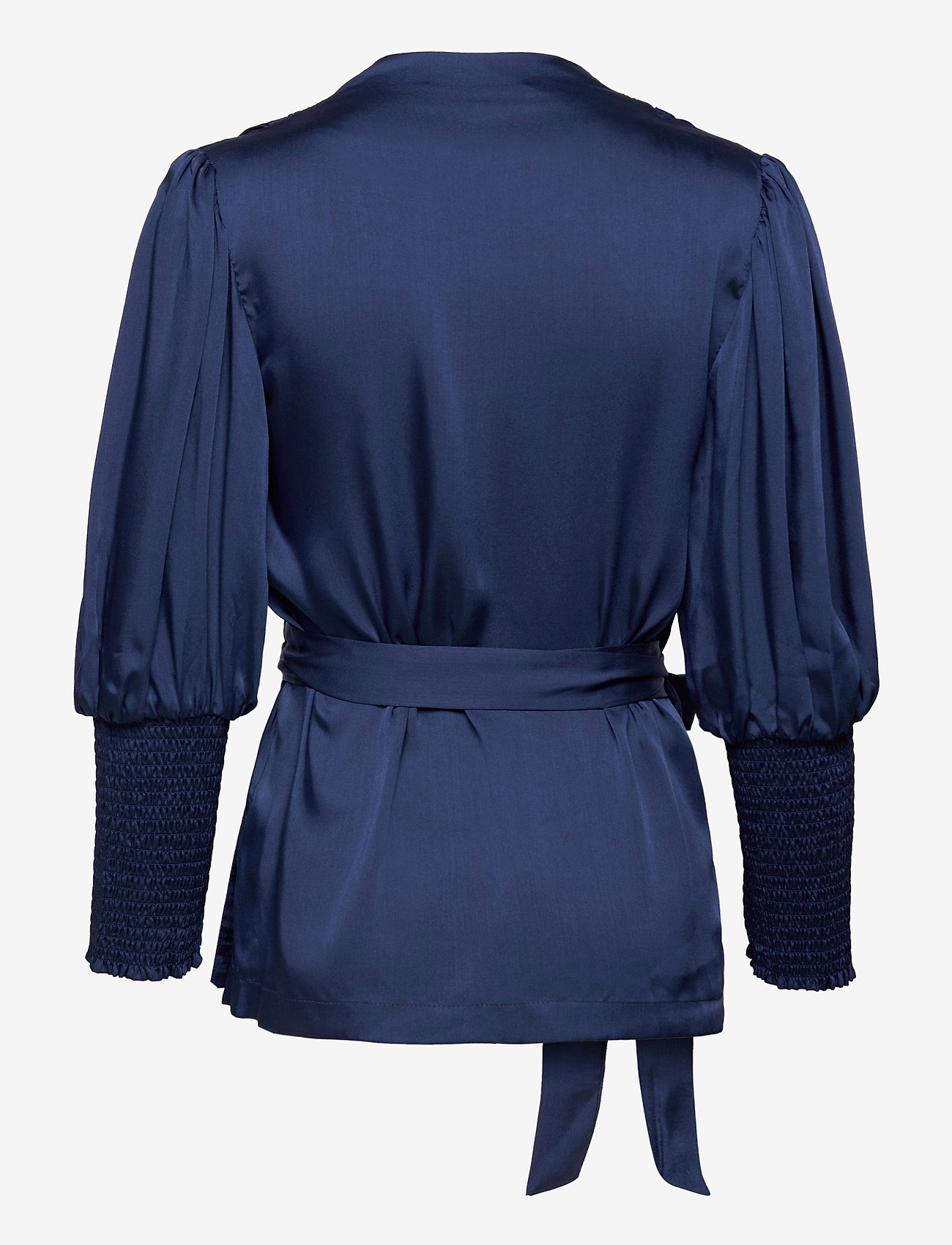By Malina - Hope blouse - långärmade blusar - deep blue - 1