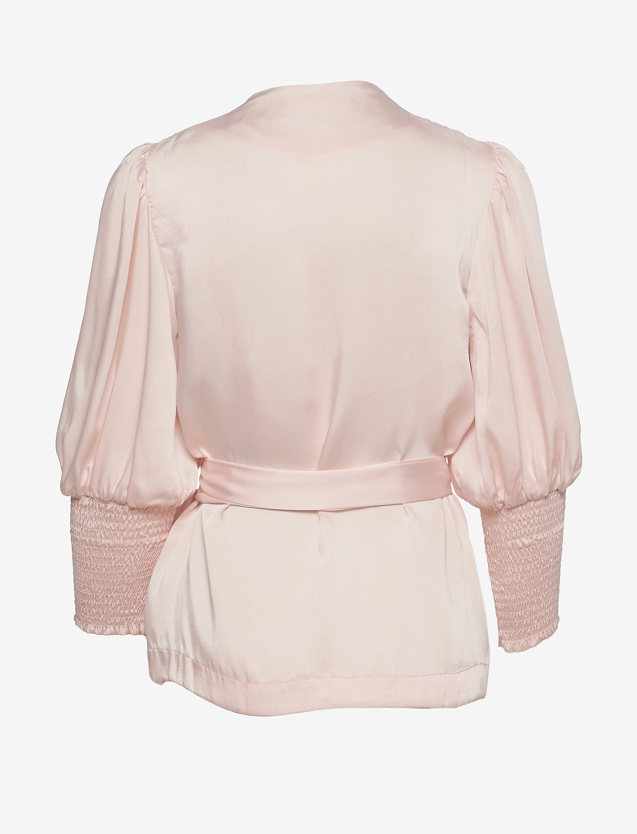 By Malina - Hope blouse - långärmade blusar - pale pink - 1