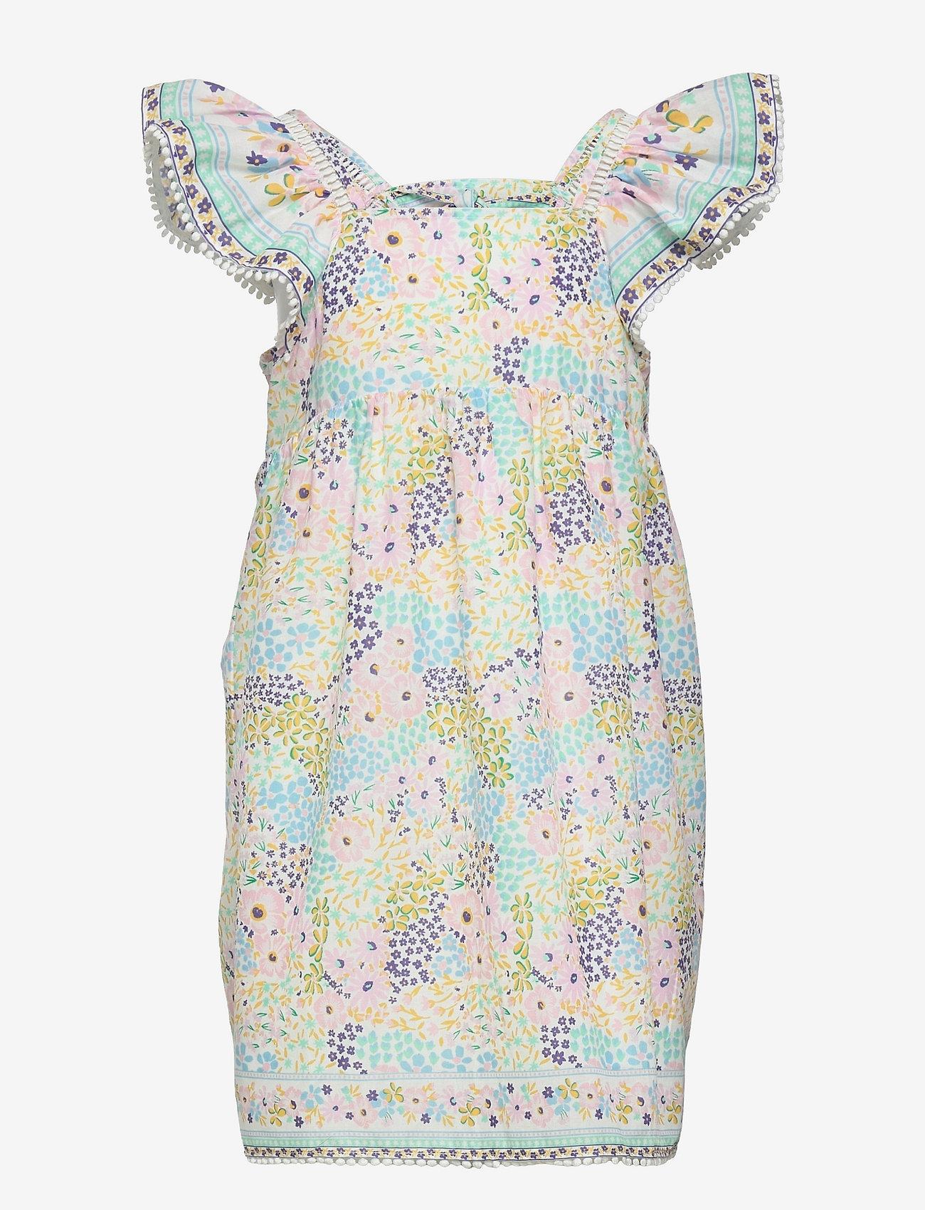 By Malina - Mini Luna dress - kleider - summer blooms - 1