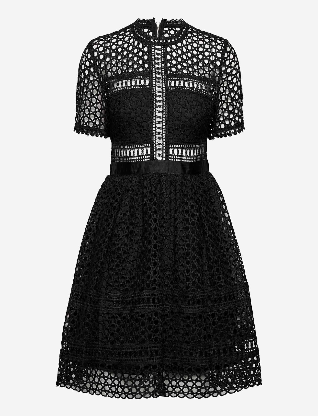 By Malina - Emily dress - cocktailklänningar - black - 1