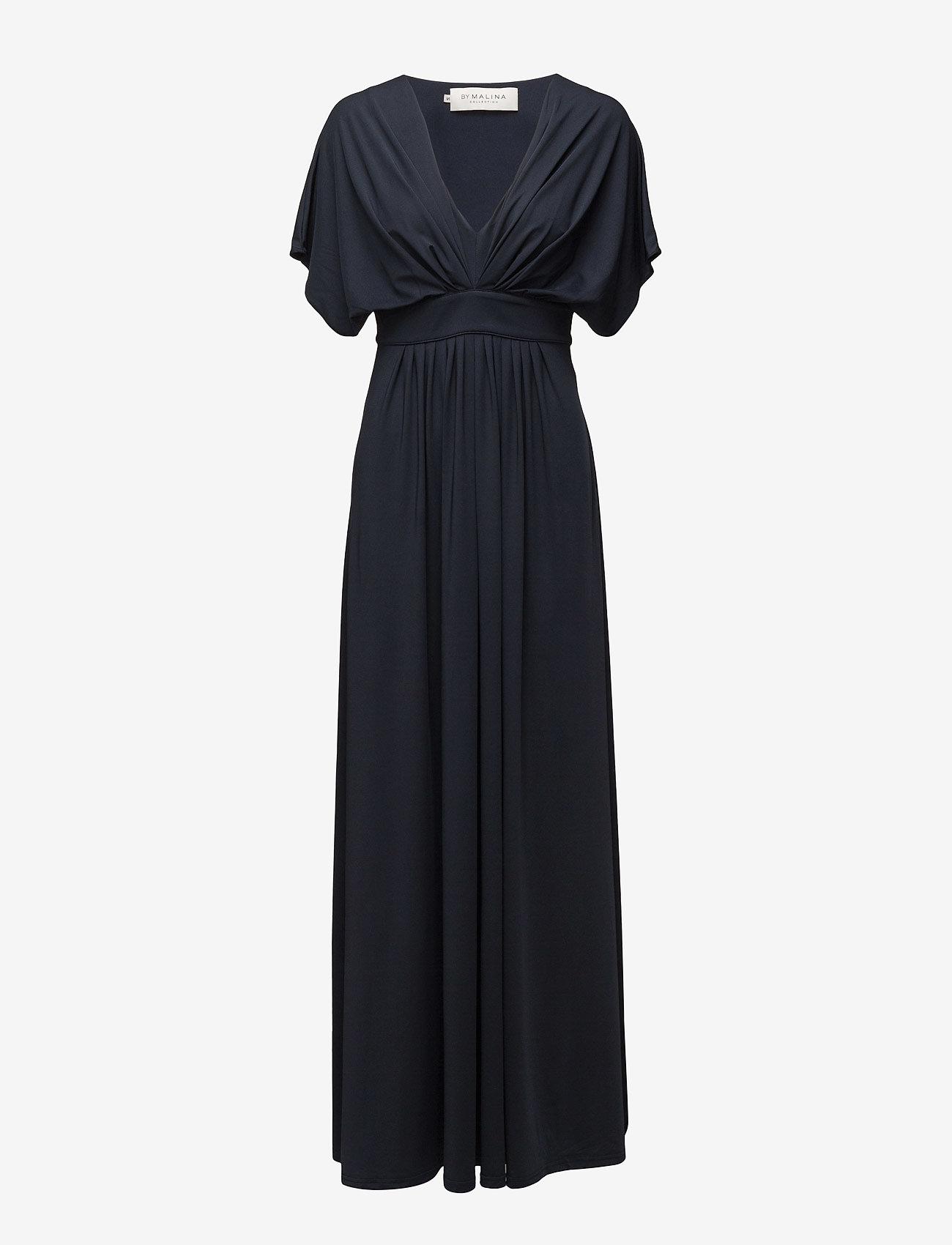 By Malina - Bree dress - maxi dresses - dark blue - 0