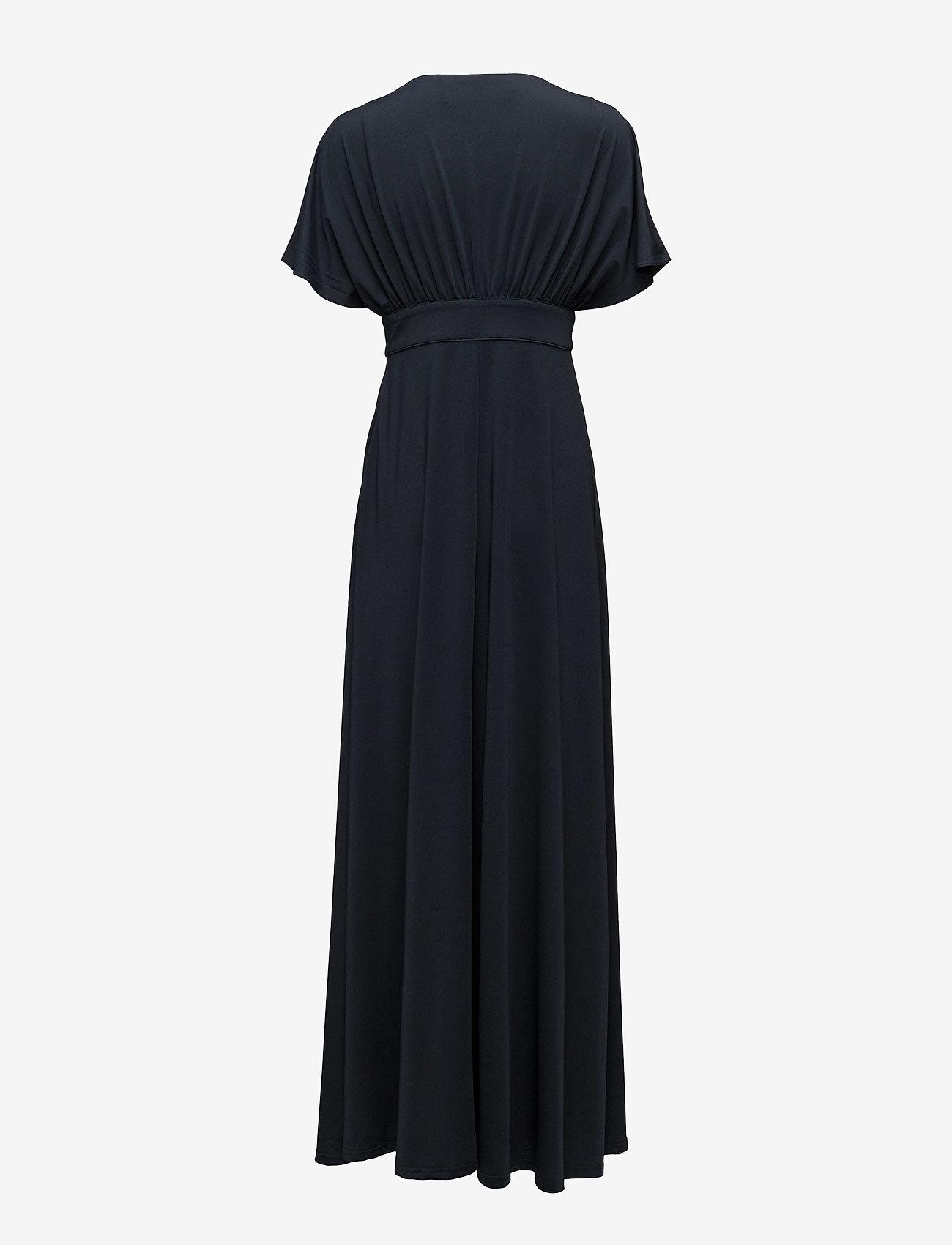 By Malina - Bree dress - maxi dresses - dark blue - 1