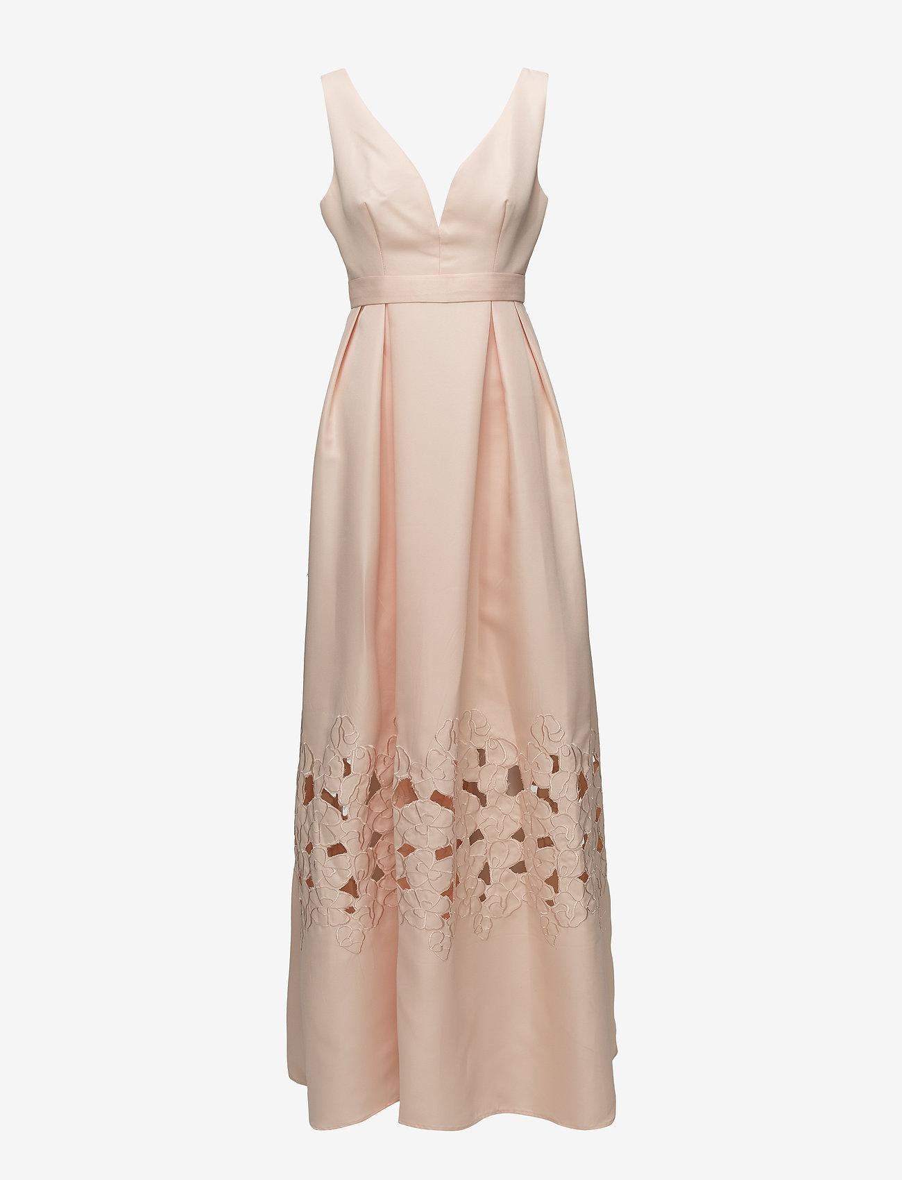 By Malina - Liv maxi dress - kveldskjoler - pink apricot - 0