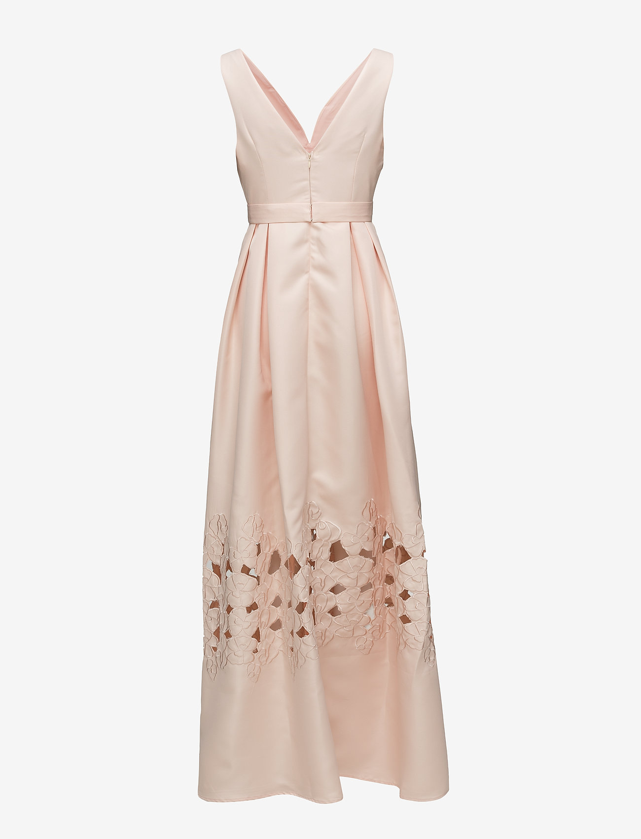By Malina - Liv maxi dress - kveldskjoler - pink apricot - 1
