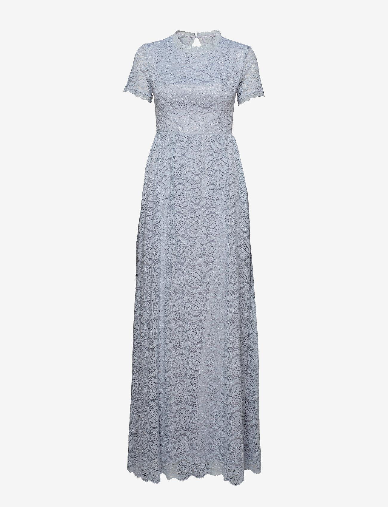By Malina - Claire dress - kanten jurken - ocean blue - 1