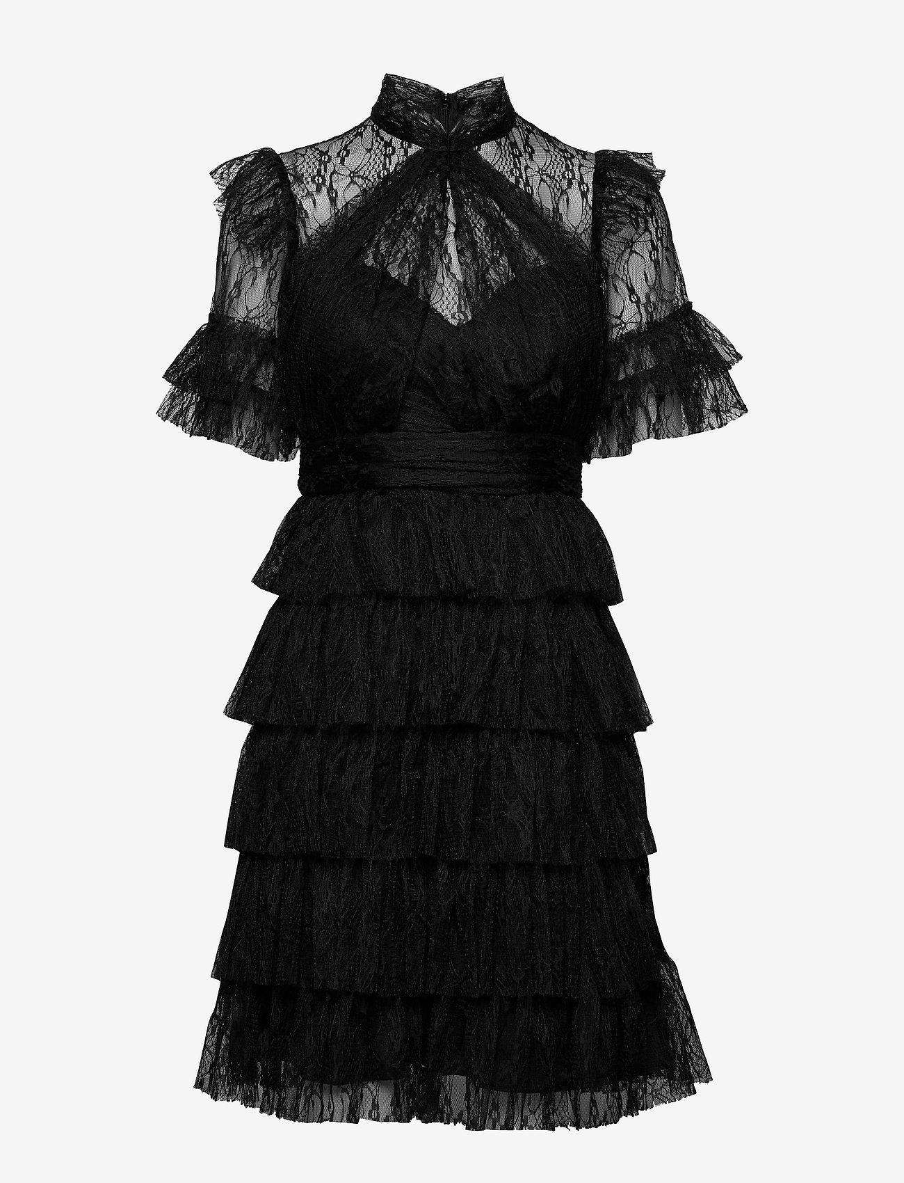 By Malina - Liona dress - cocktailklänningar - black - 0