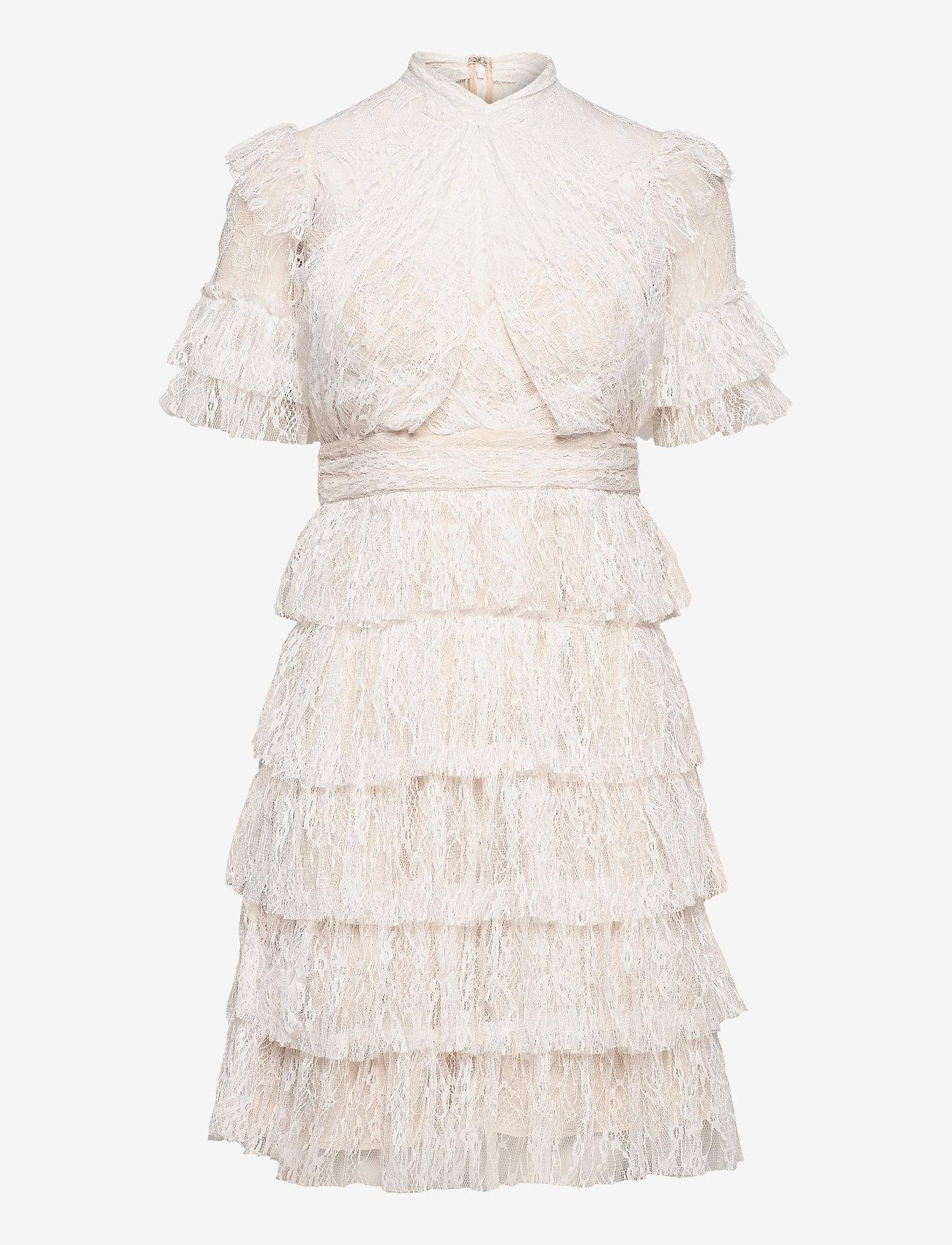 By Malina - Liona dress - cocktailklänningar - white - 1