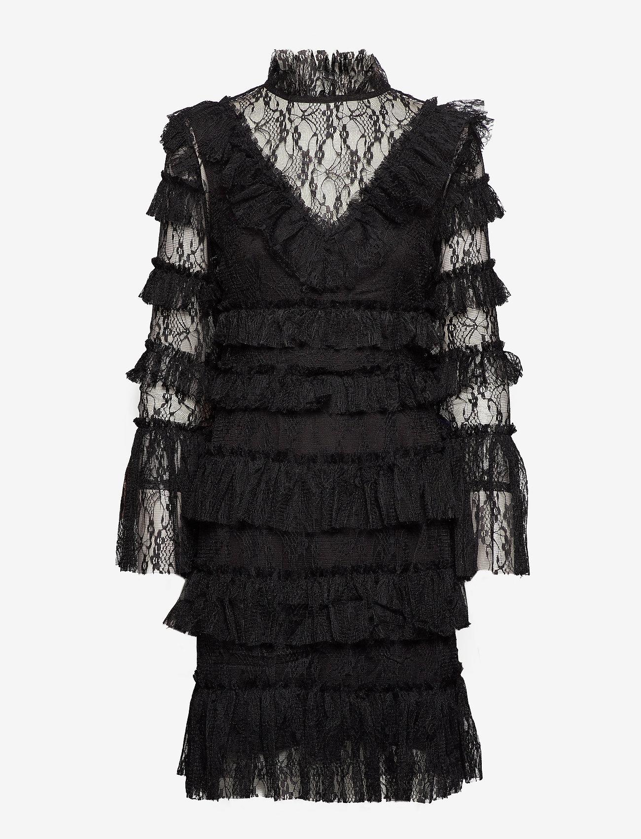 By Malina - Rosa dress - cocktailklänningar - black - 1