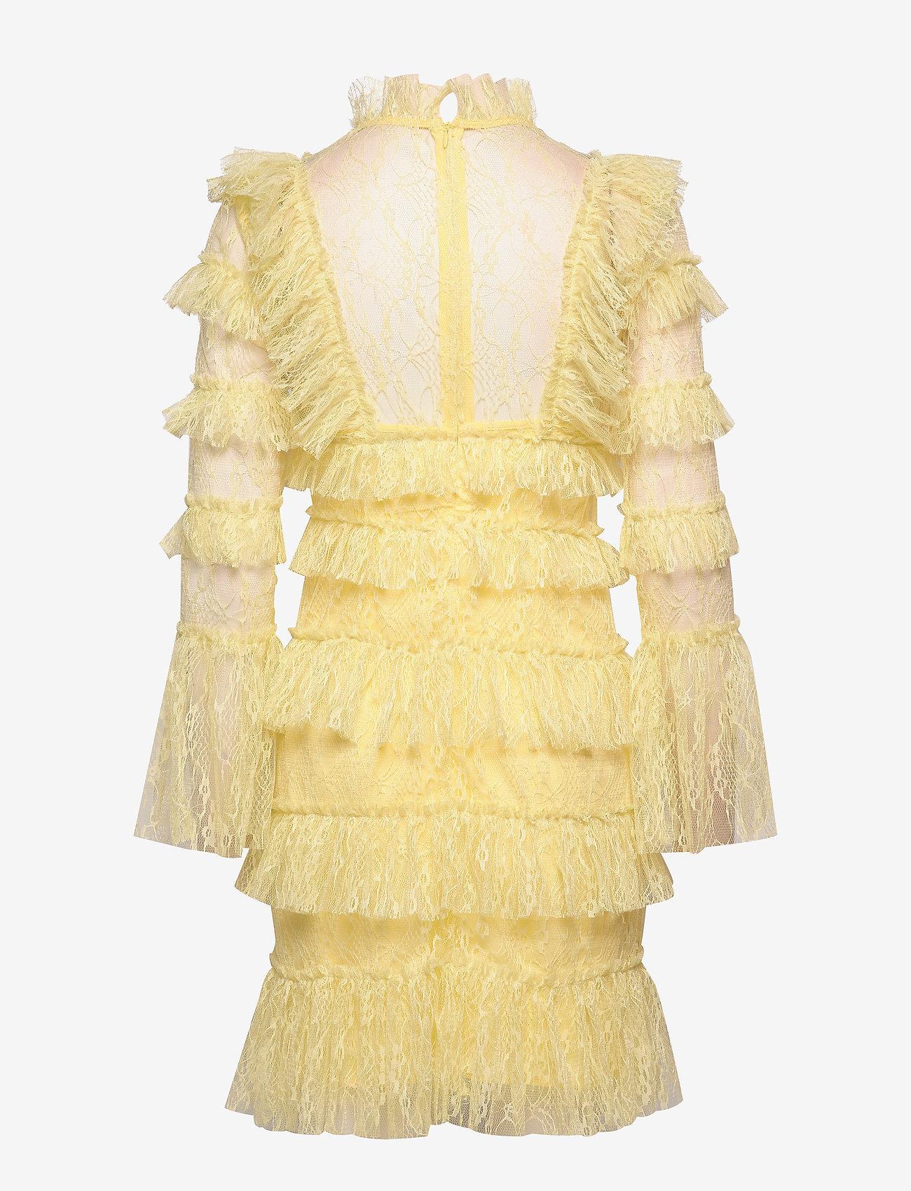 By Malina - Rosa dress - cocktail-kjoler - lemon - 1
