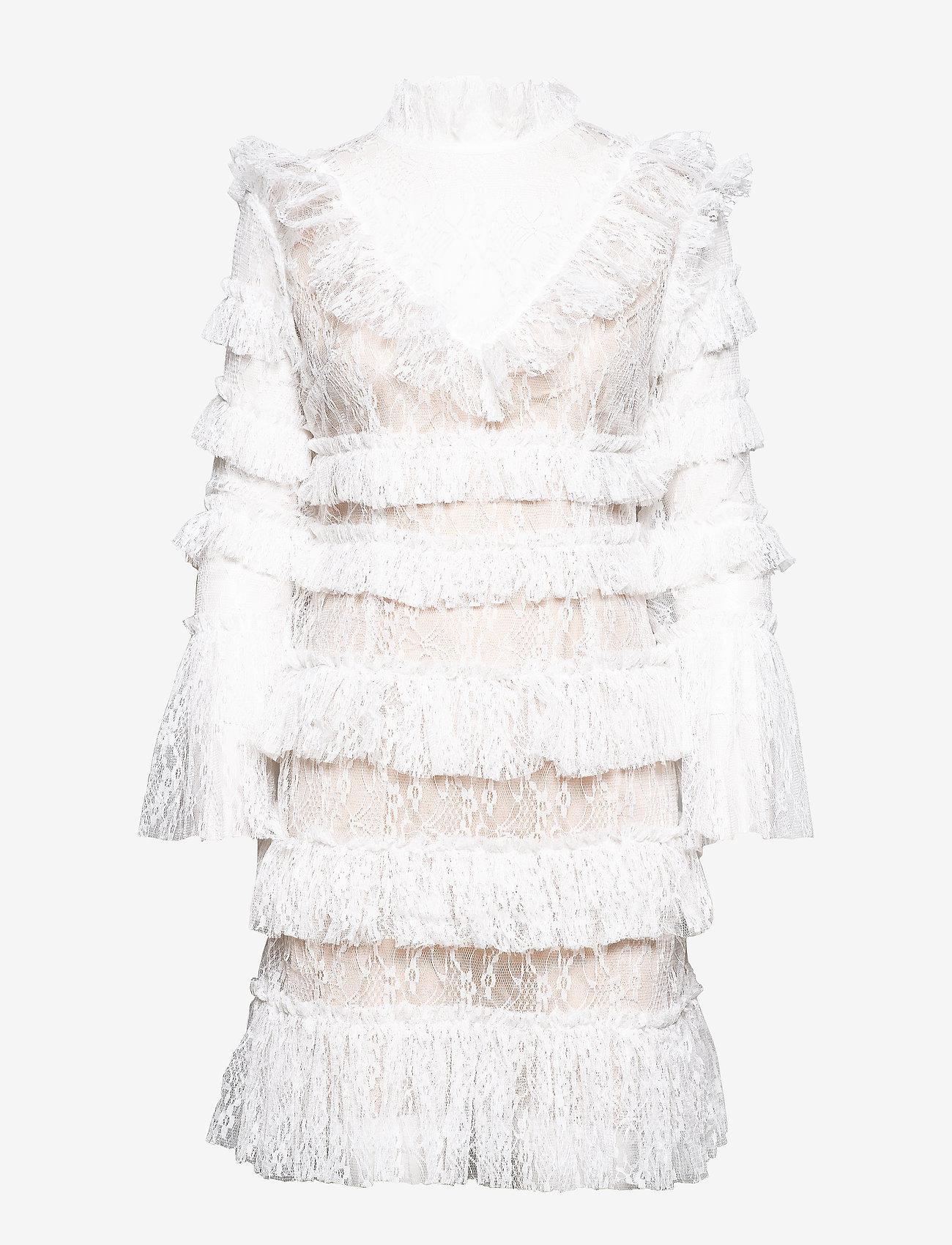 By Malina - Rosa dress - cocktail-kjoler - white - 1