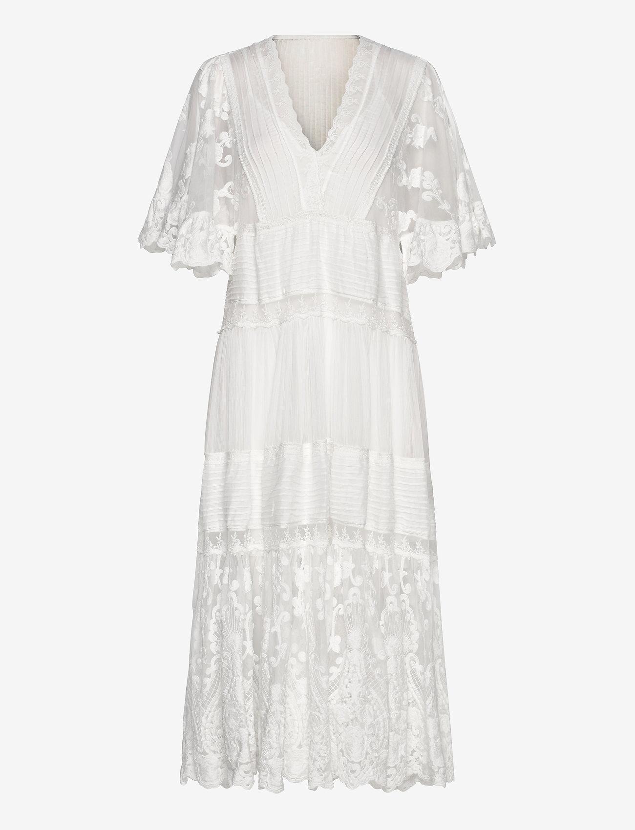 By Malina - Olympia kaftan dress - trouwjurken - white - 0