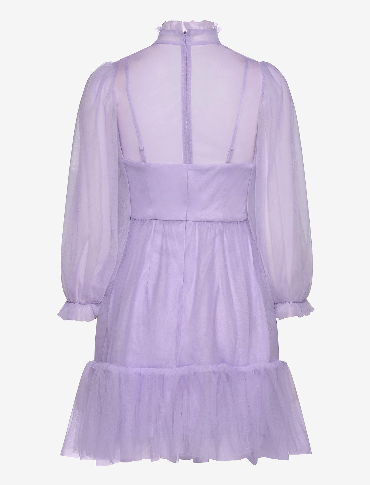 By Malina - Melany mini dress - festklänningar - violet - 1