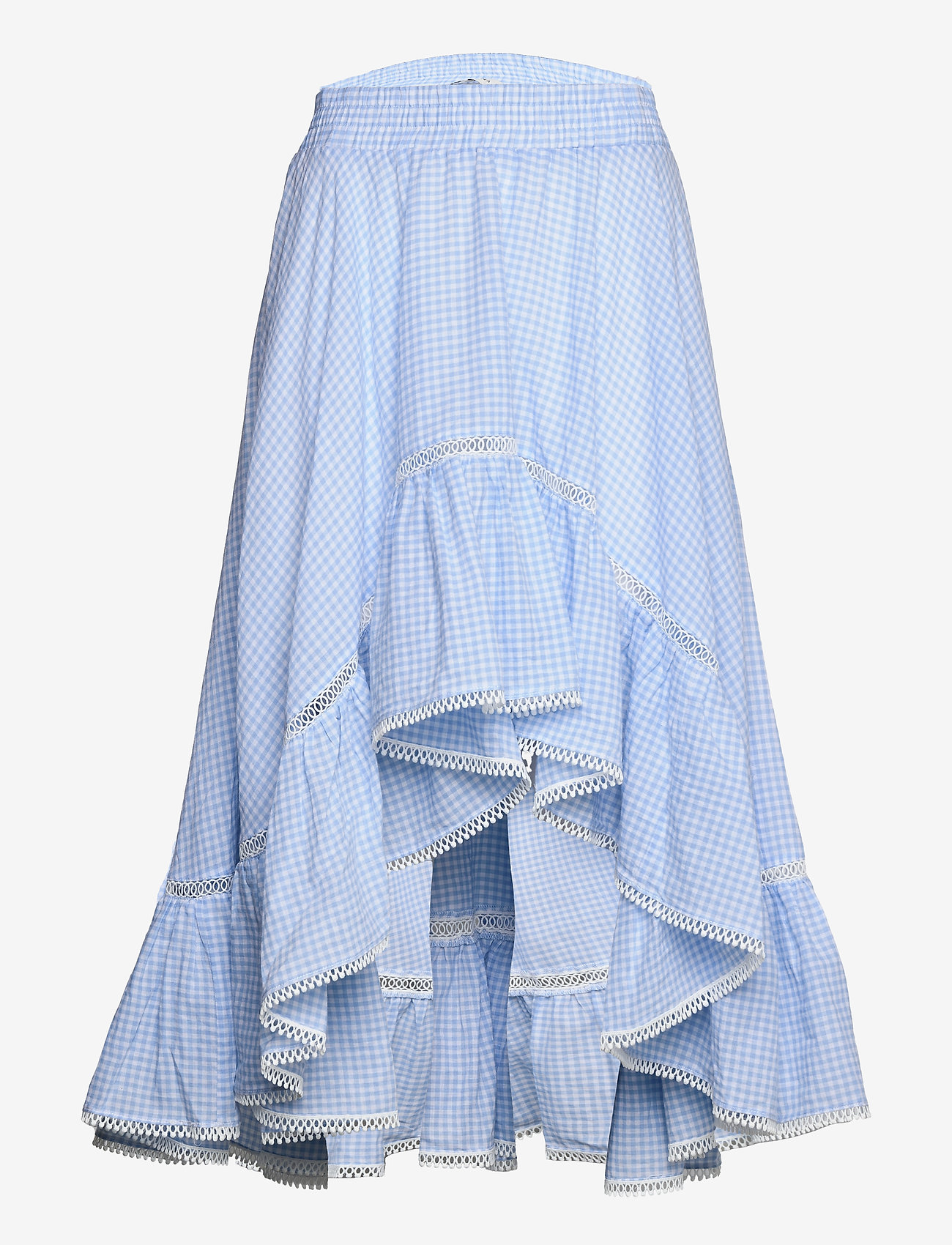By Malina - Avery skirt - blue checker - 1