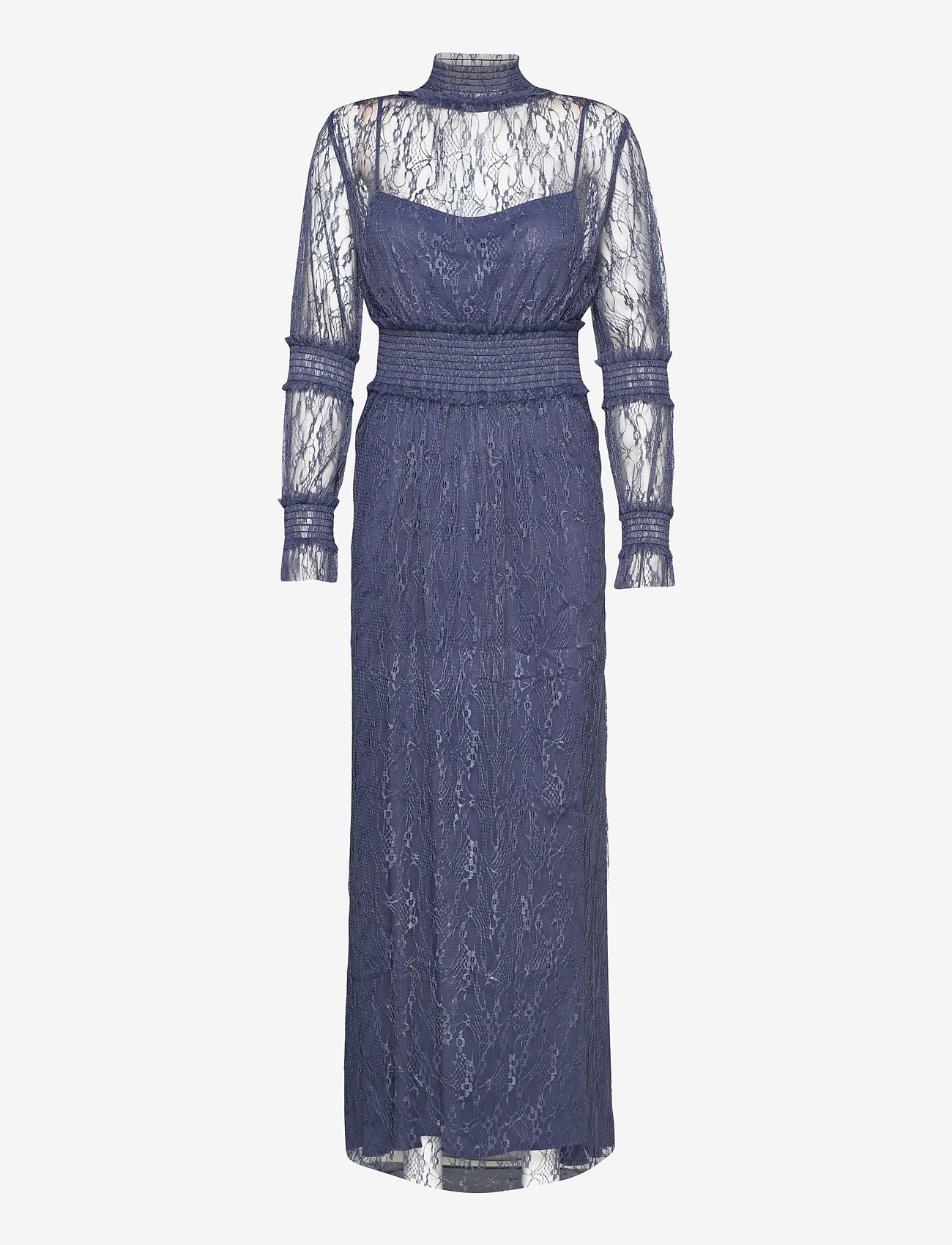 By Malina - Silvie dress - aftonklänningar - indigo blue - 1