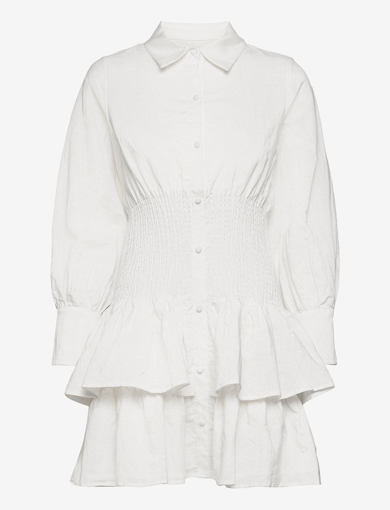 By Malina - Coralie dress - sommarklänningar - white - 0