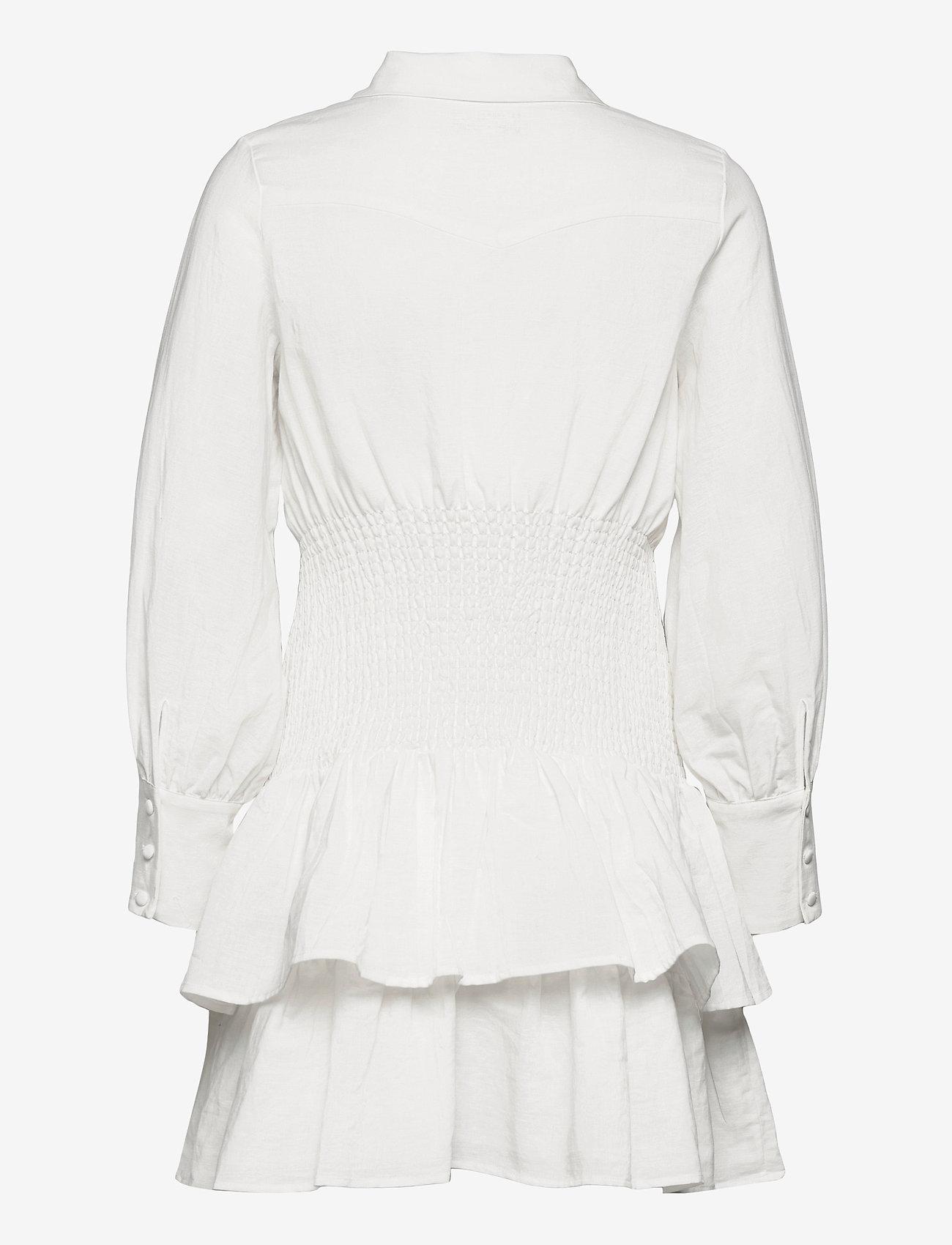 By Malina - Coralie dress - sommarklänningar - white - 1