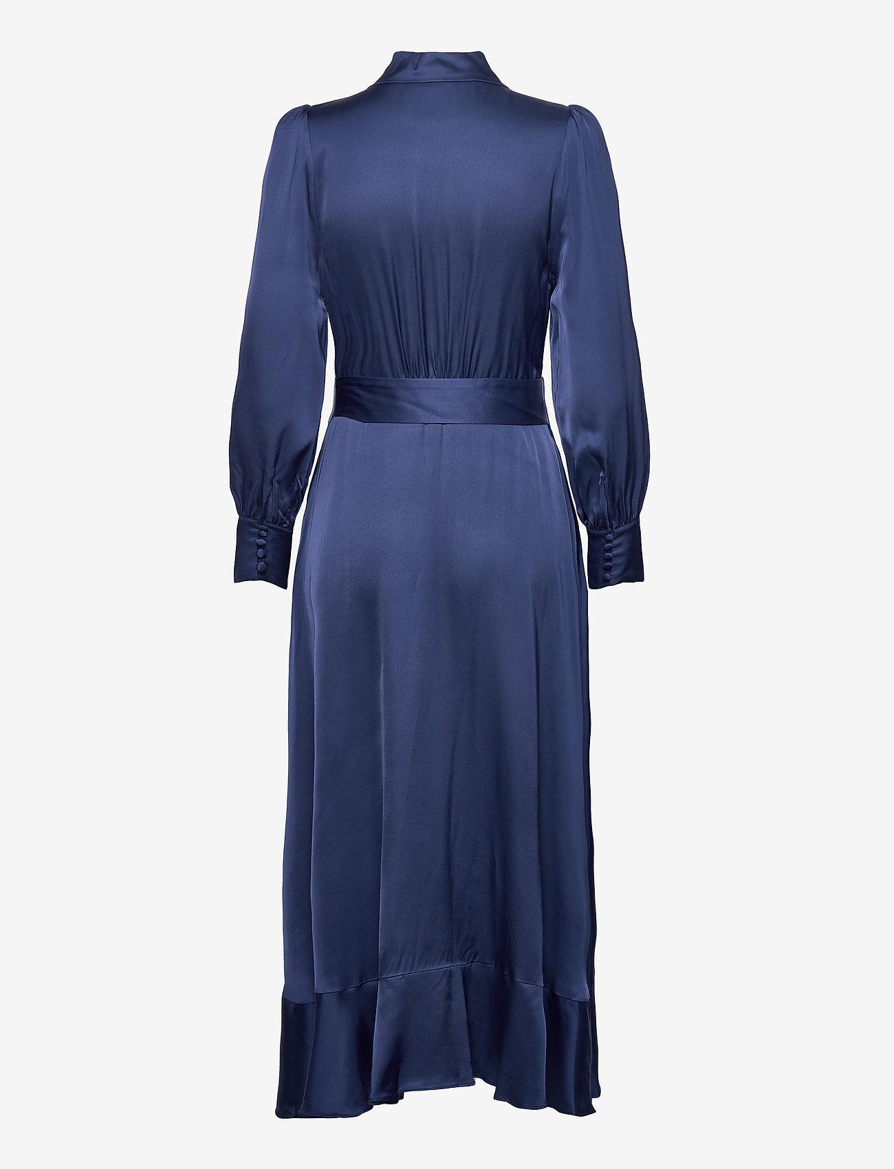 By Malina - Florence dress - cocktailklänningar - deep blue - 1
