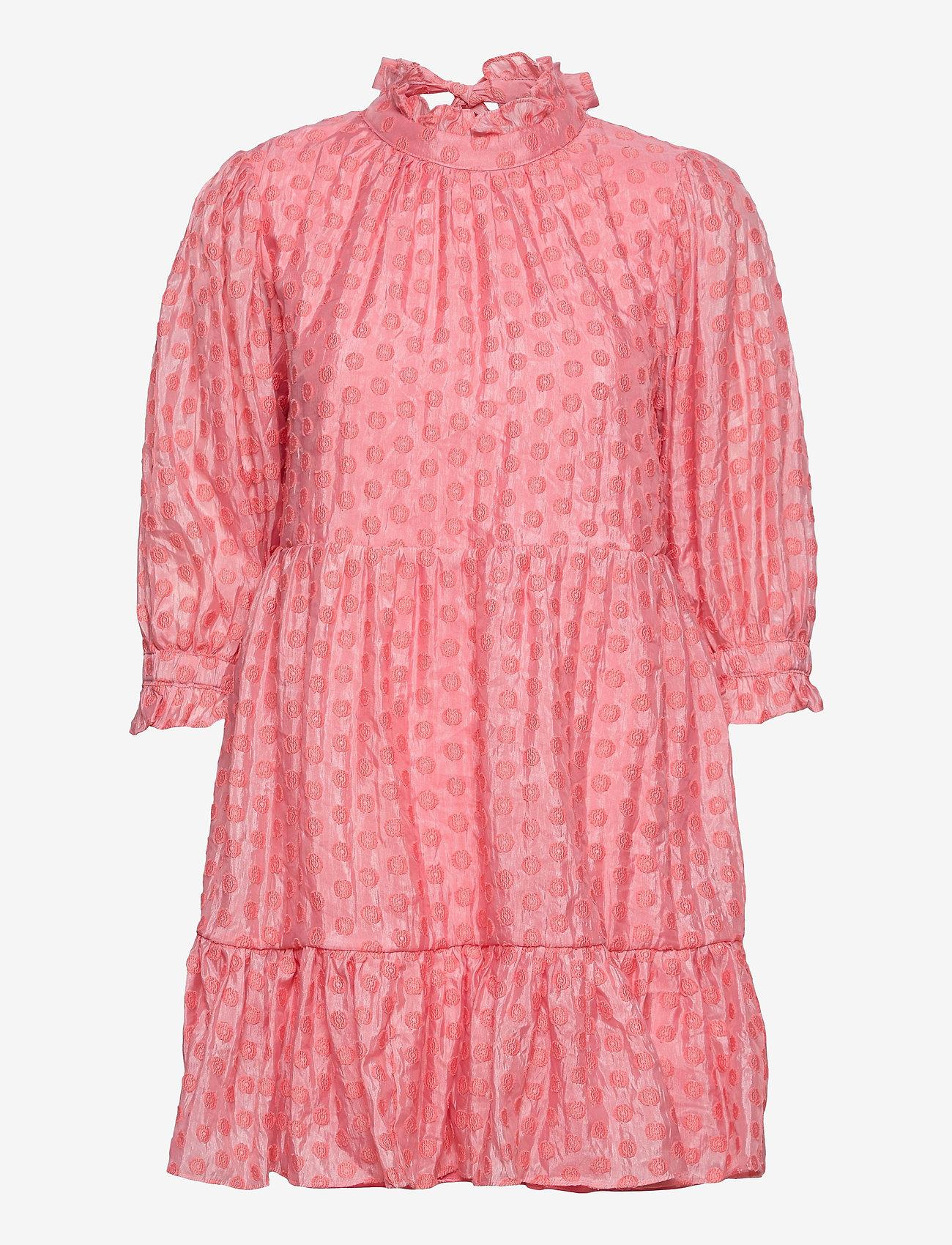 By Malina - Arya dress - vardagsklänningar - coral rose - 0