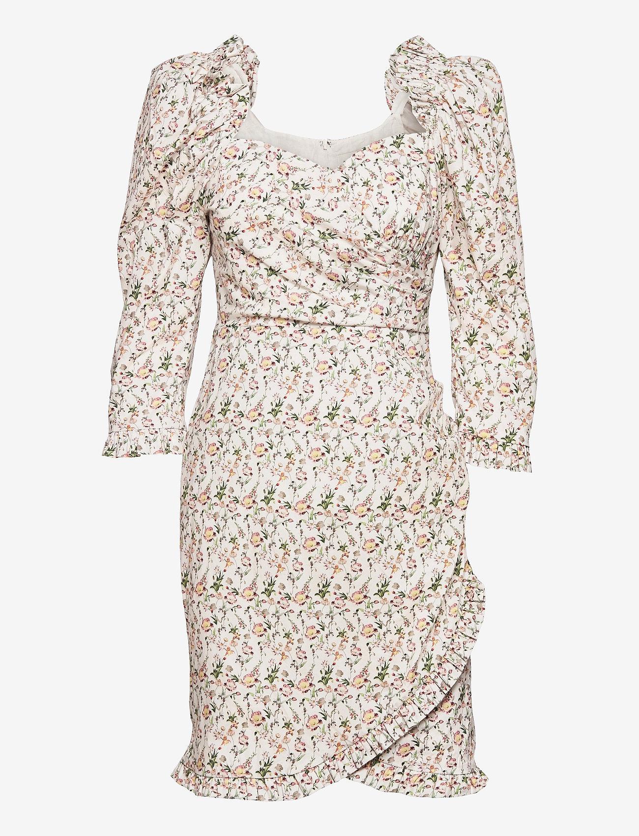 By Malina - Rosie dress - sommarklänningar - french rose white - 1