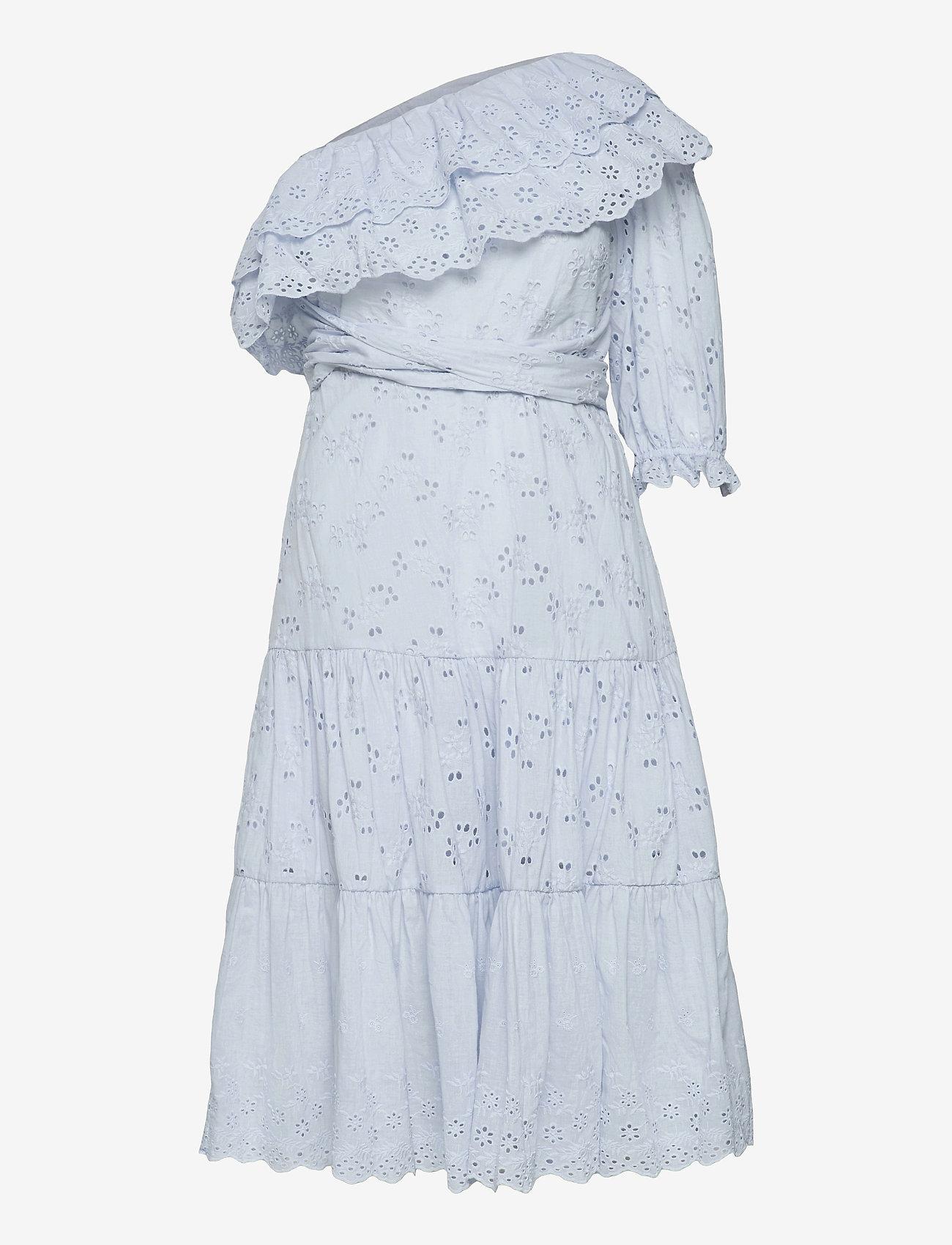 By Malina - Clementine dress - sommarklänningar - sky blue - 1
