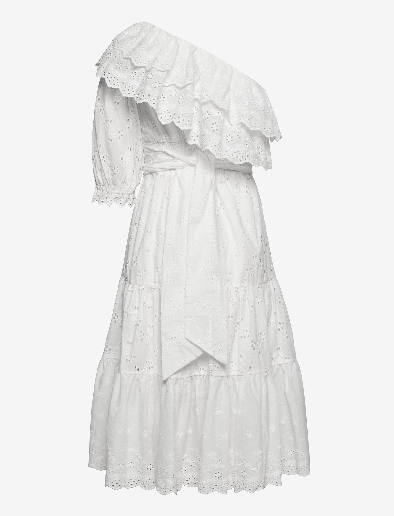 By Malina - Clementine dress - sommarklänningar - white - 1