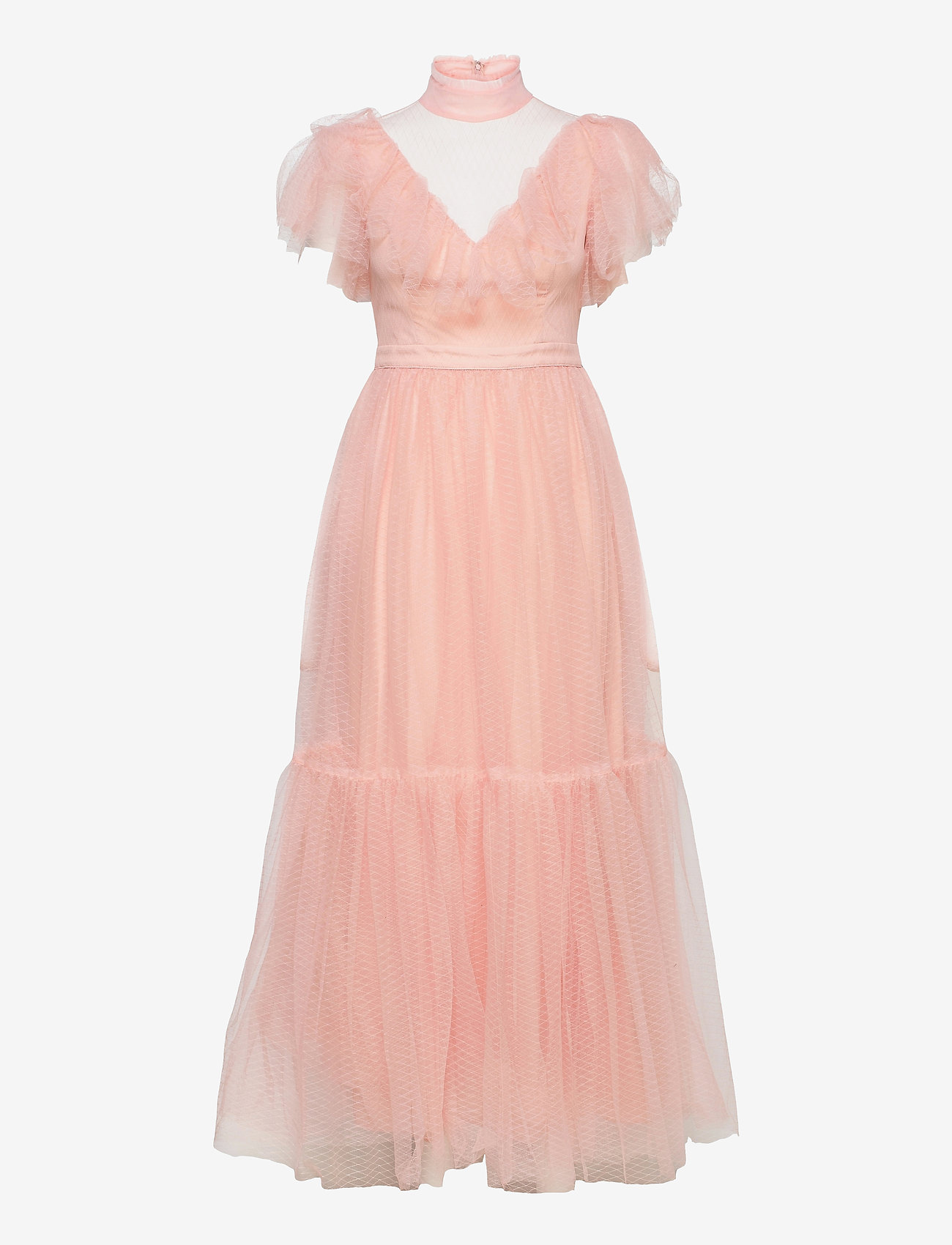 By Malina - Jolie dress - aftonklänningar - dusty pink - 1