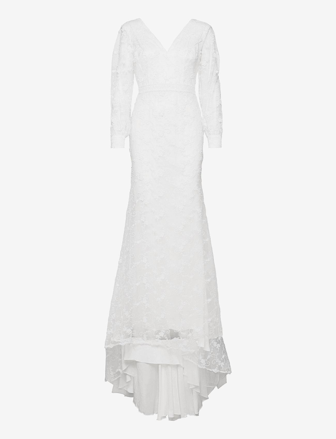 By Malina - Giselle gown - spetsklänningar - ivory - 1
