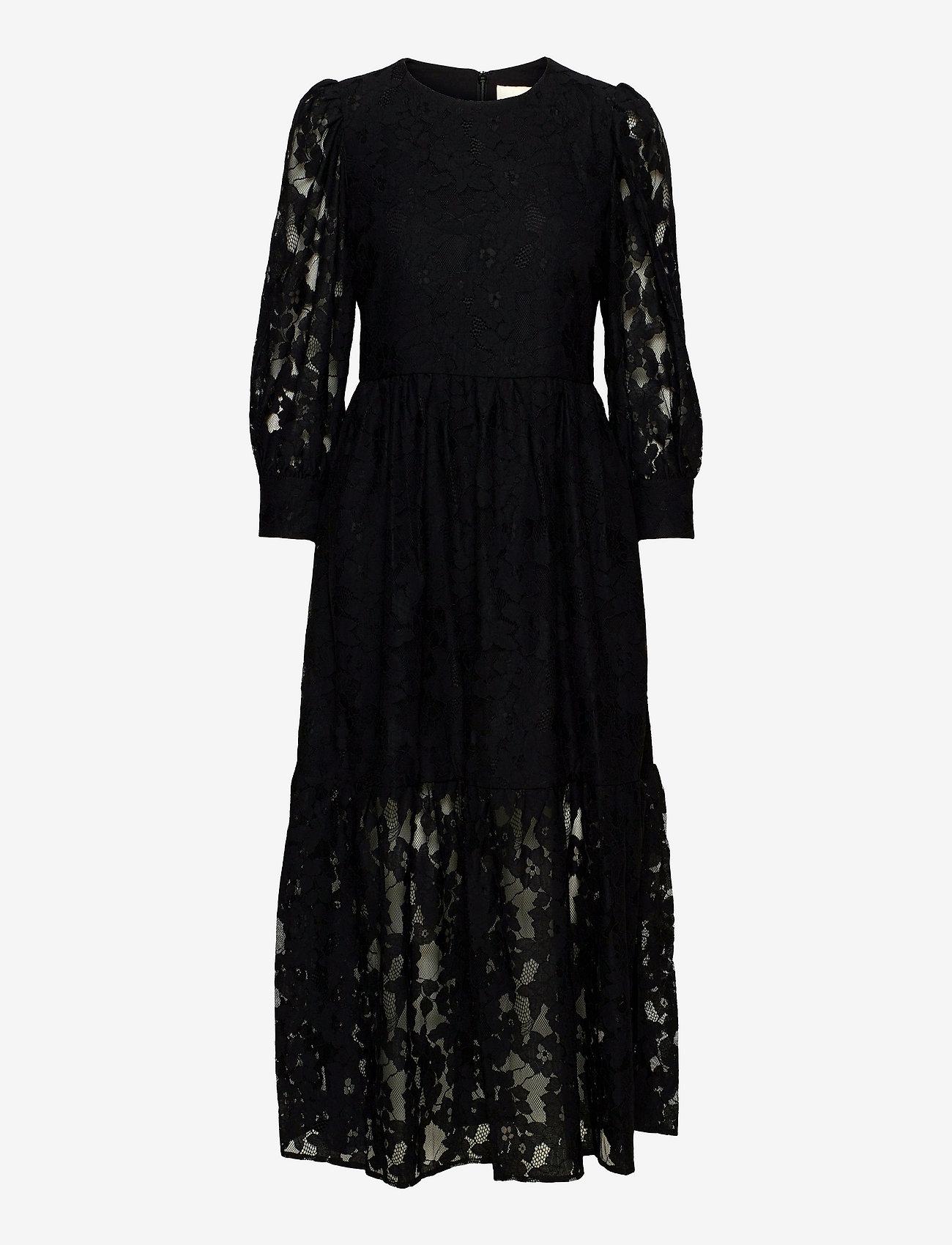 By Malina - Birdie dress - kveldskjoler - black - 1