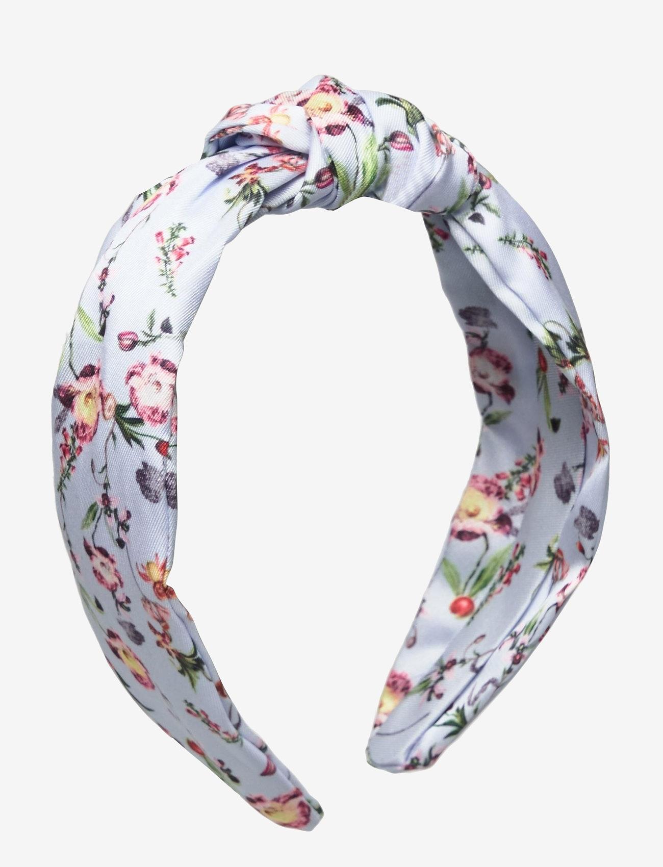 By Malina - Wilma headband - haar accessoires - french rose sky blue - 1