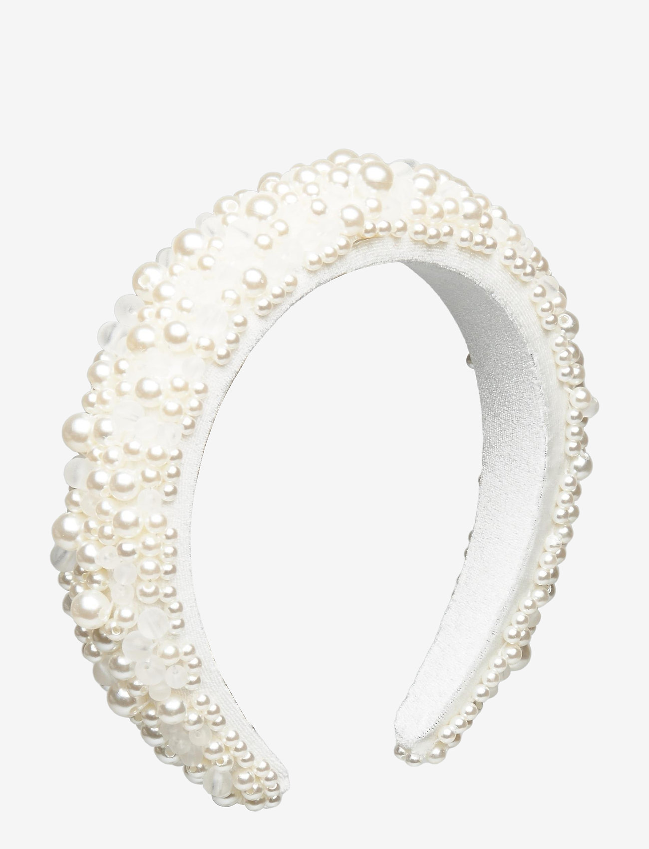By Malina - Coco pearl headband - haar accessoires - ivory - 1