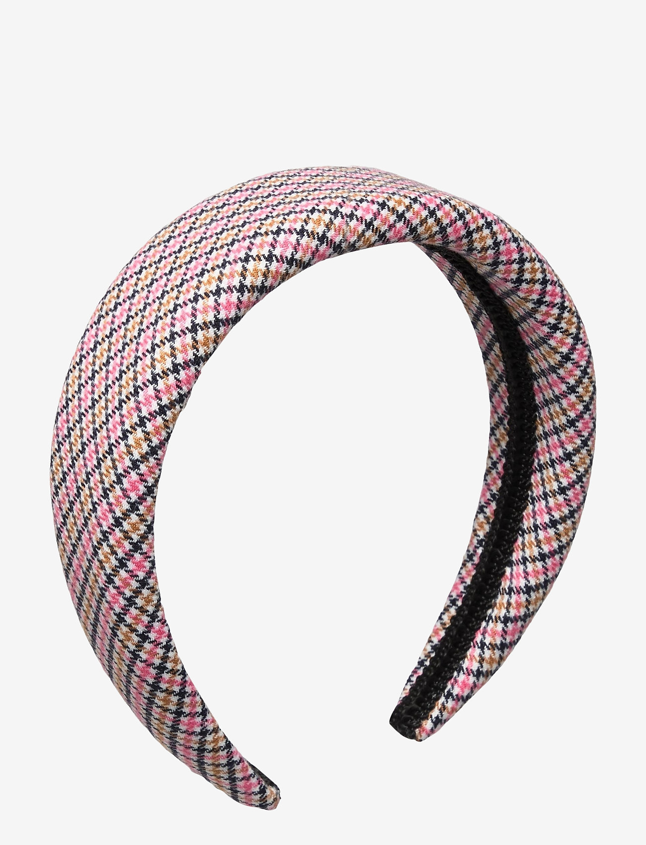 By Malina - Sally headband - haar accessoires - pink checker - 0