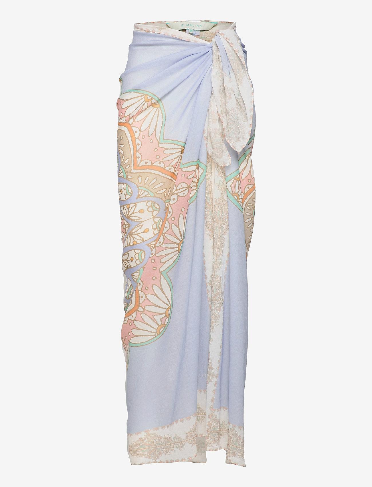 By Malina - Beach pareo - strandkläder - pastel paisley - 1