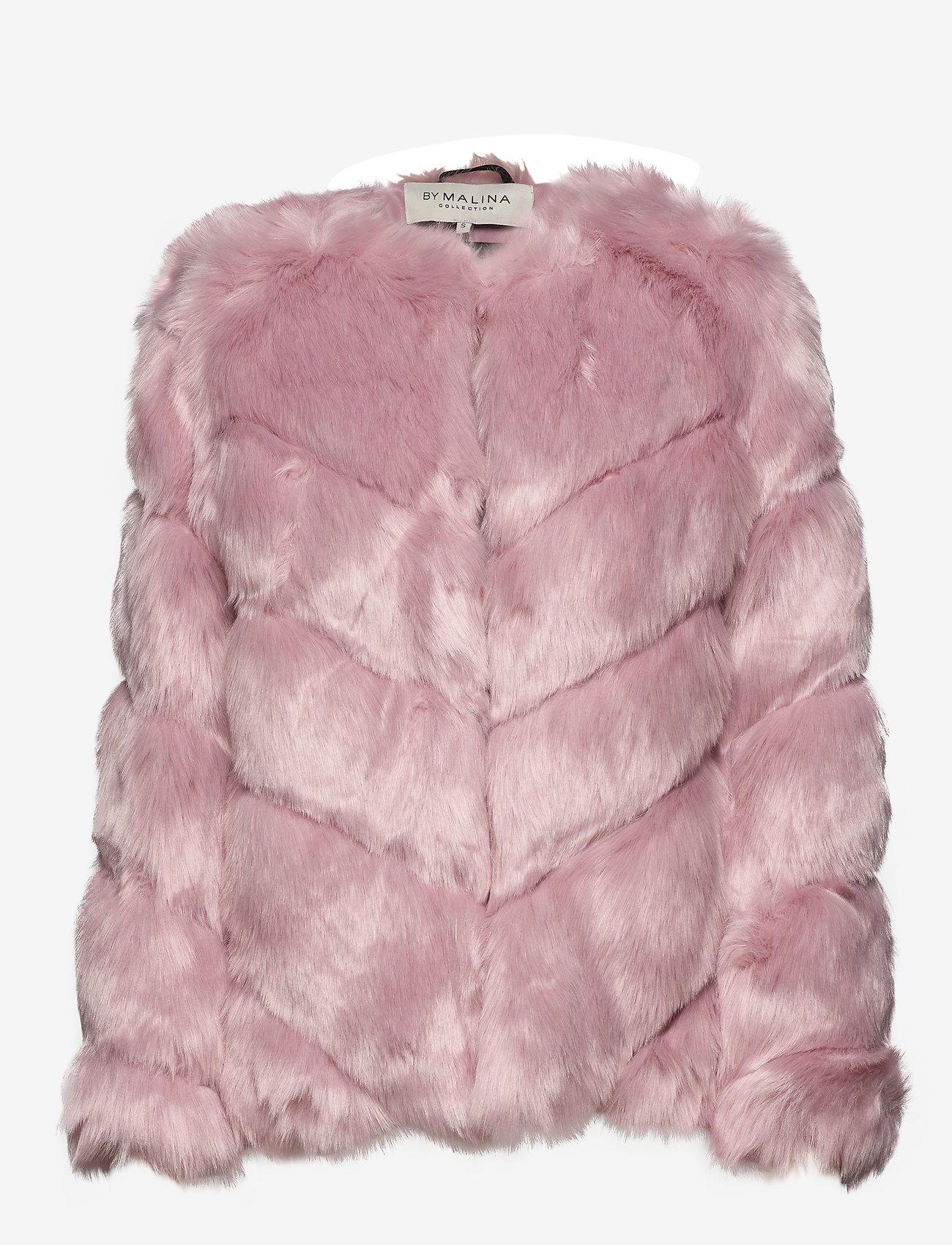 By Malina - Oria faux fur jacket - sztuczne futro - rosé - 1