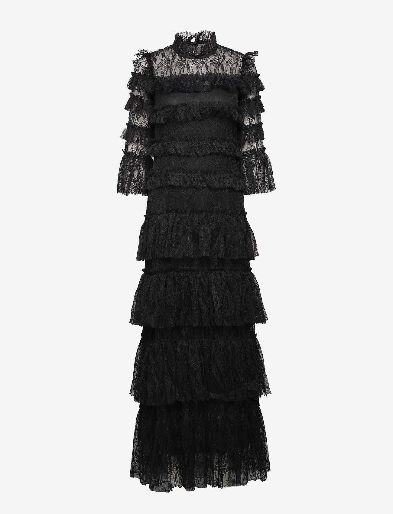 By Malina - Carmine maxi dress - avondjurken - black - 1
