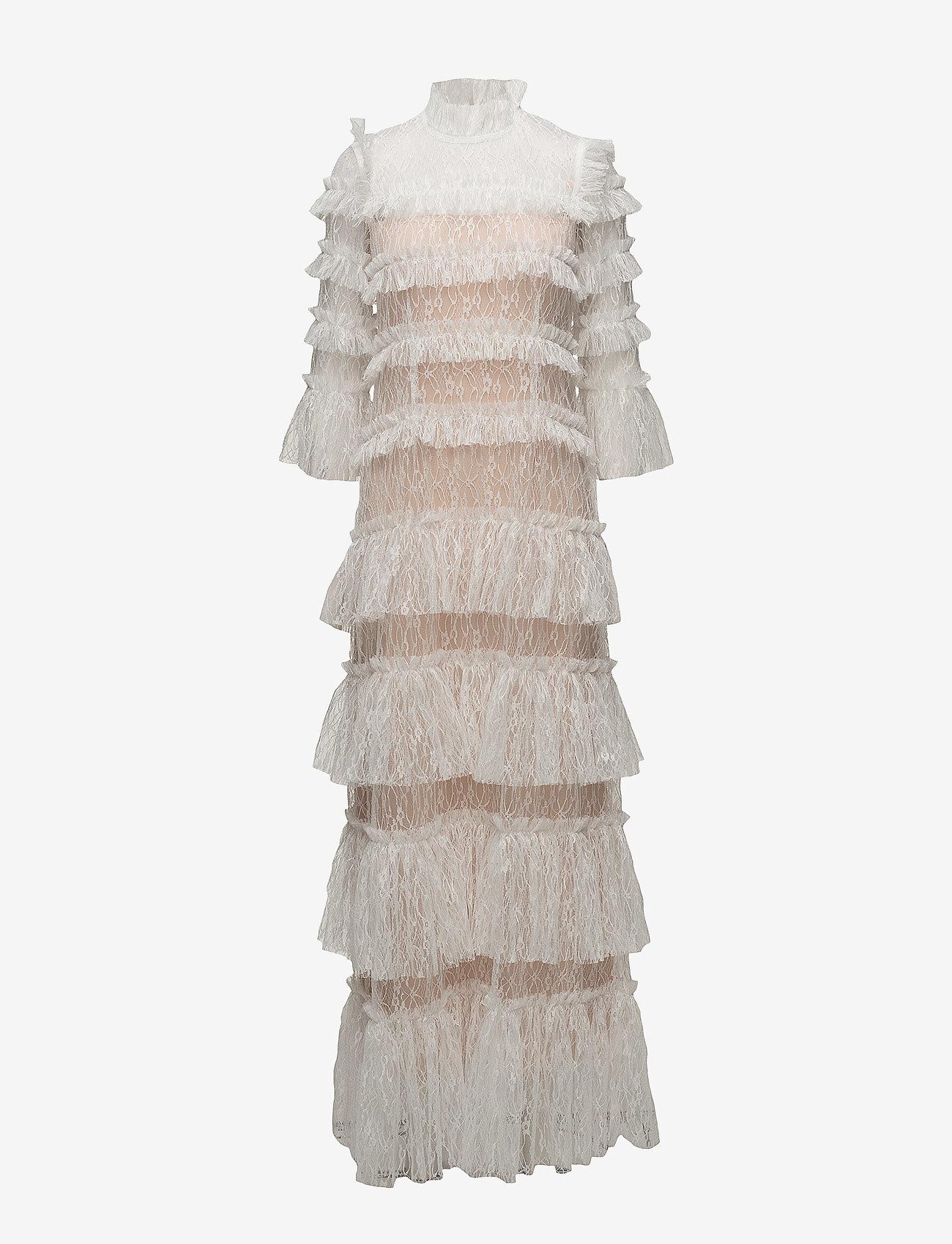 By Malina - Carmine maxi dress - pitsimekot - cloudy white - 1