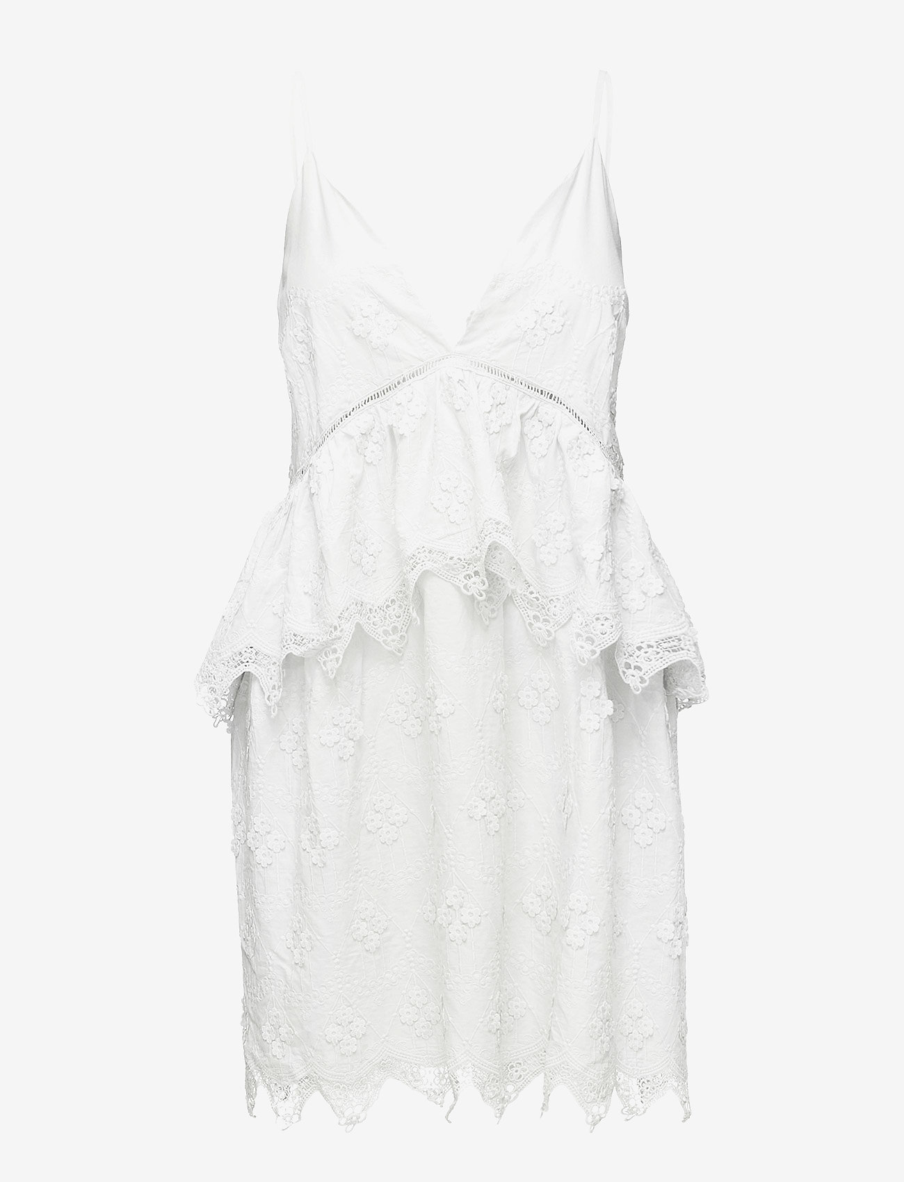 Neela Dress (White) - By Malina MTcpMb