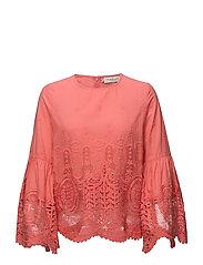 Alonza blouse - WATERMELON