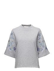 Brittany sweatshirt - GREY MELANGE