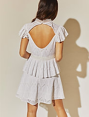 By Malina - Grace dress - korta klänningar - white - 3