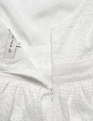 By Malina - Grace dress - korta klänningar - white - 6