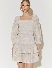 By Malina - Tilda skirt - korta kjolar - pastel paisley - 4
